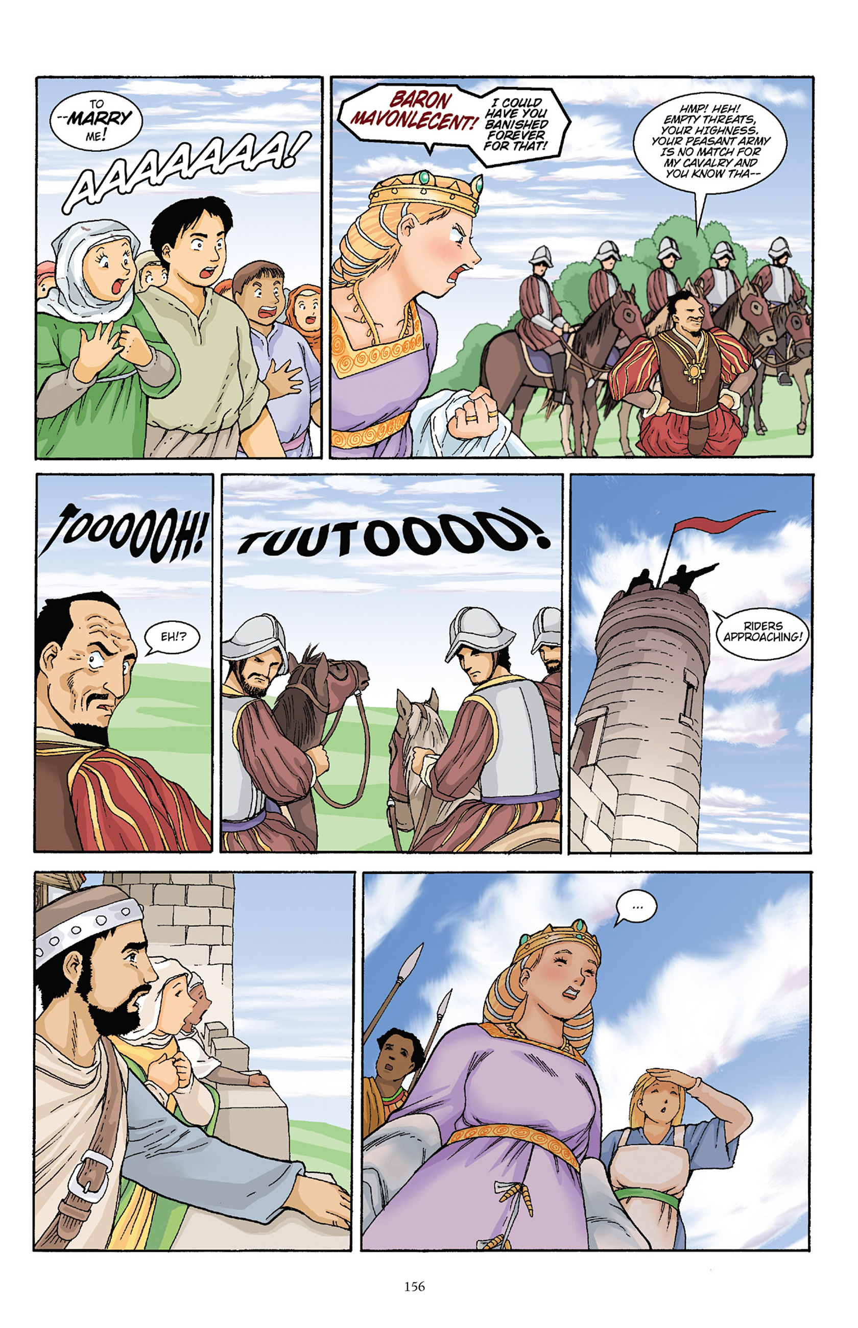 Read online Courageous Princess comic -  Issue # TPB 1 - 155