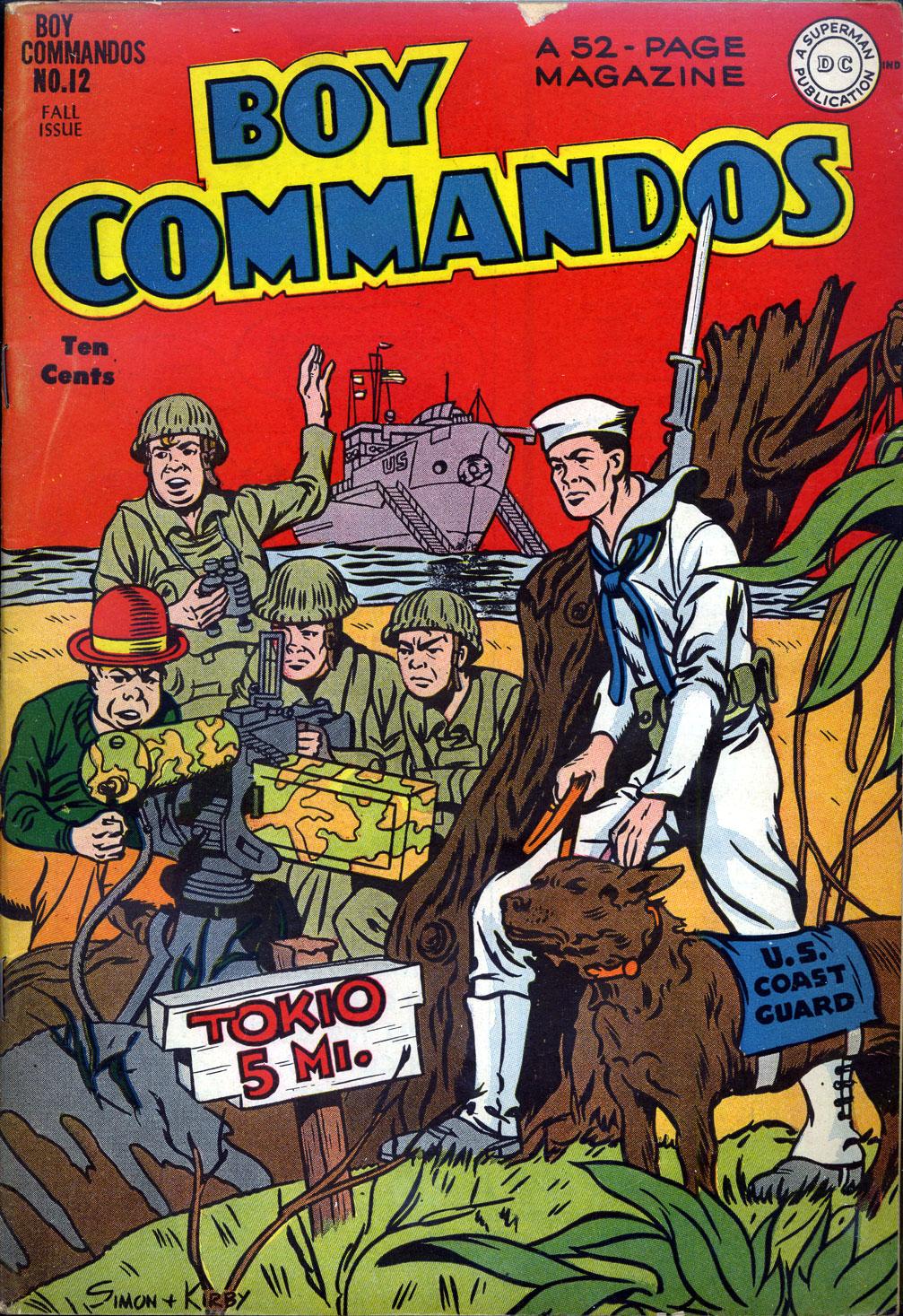 Boy Commandos 12 Page 1