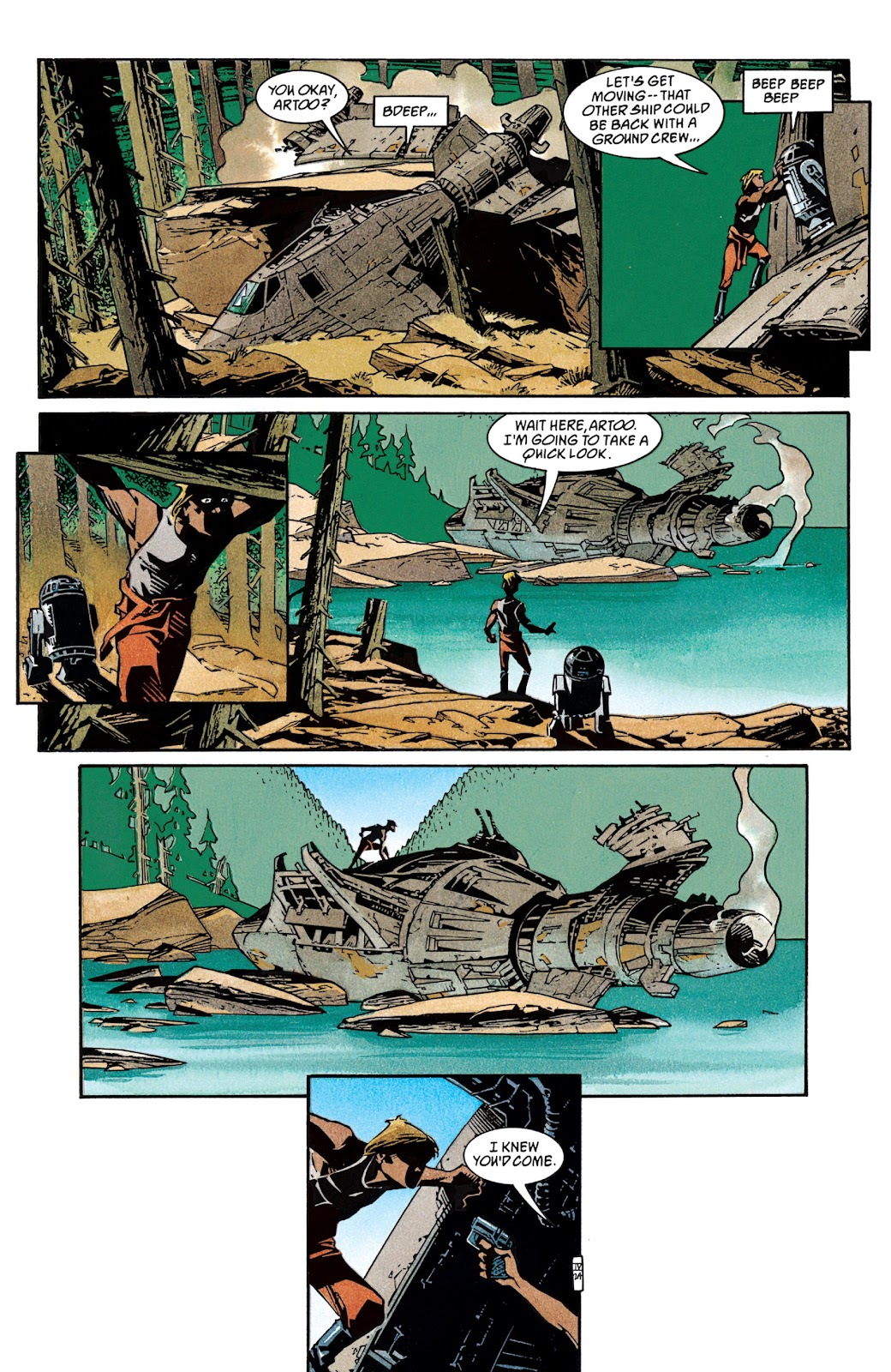 Read online Star Wars Legends: The New Republic - Epic Collection comic -  Issue # TPB 4 (Part 2) - 1