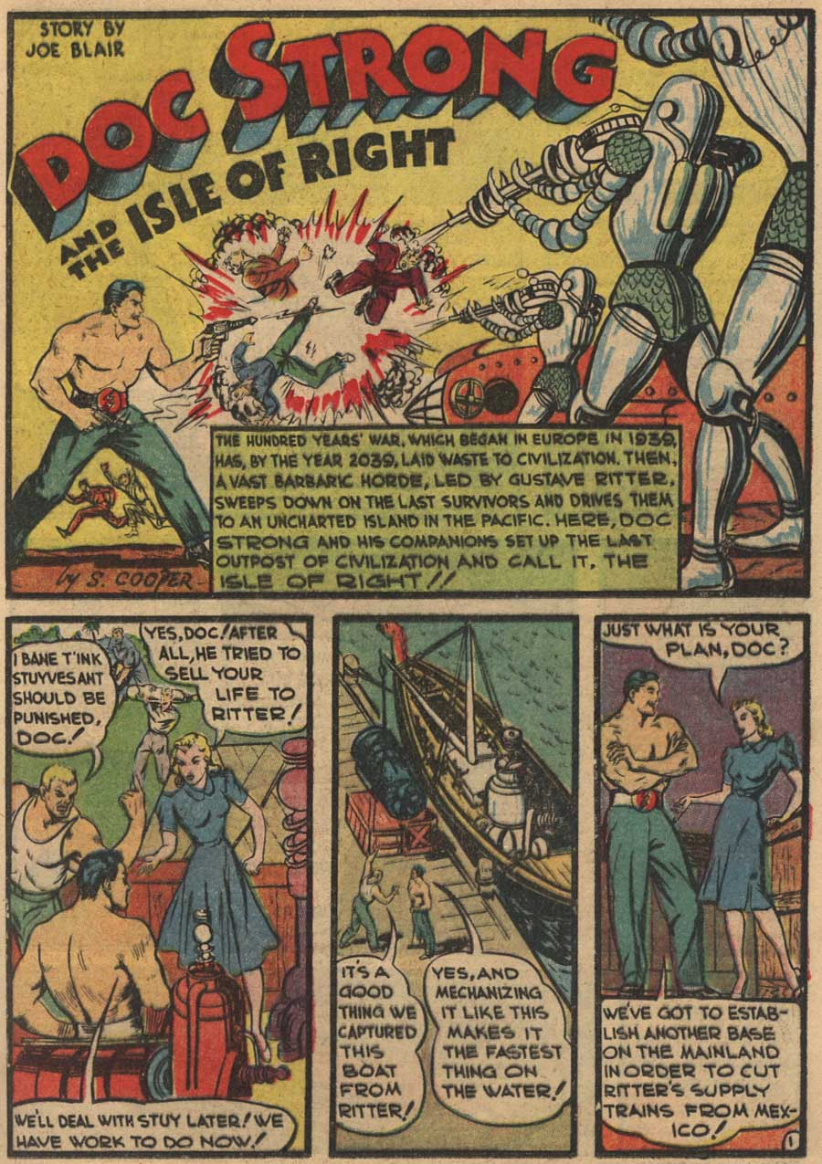 Blue Ribbon Comics (1939) issue 7 - Page 49