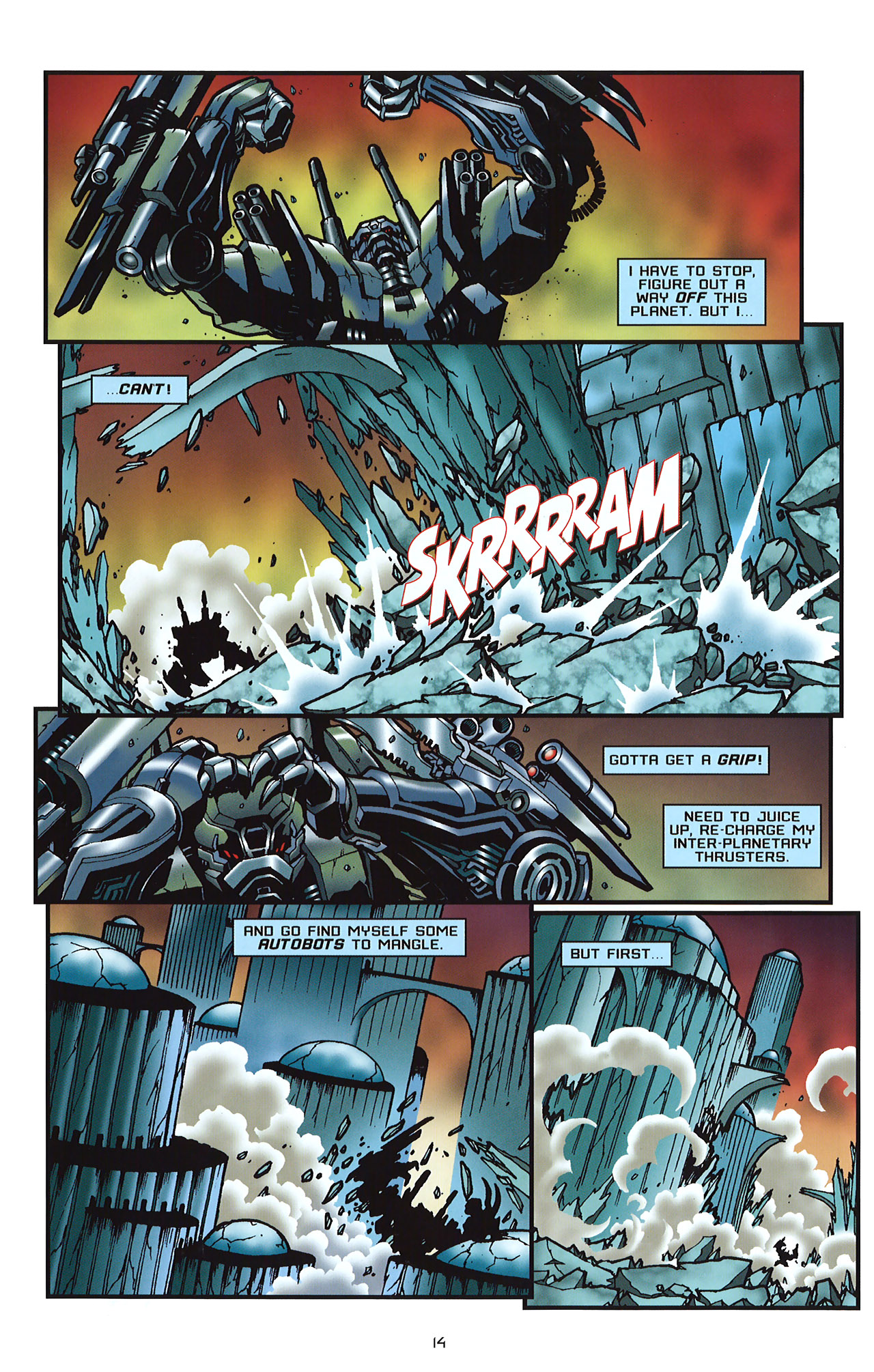 Read online Transformers: Saga of the Allspark comic -  Issue #2 - 17