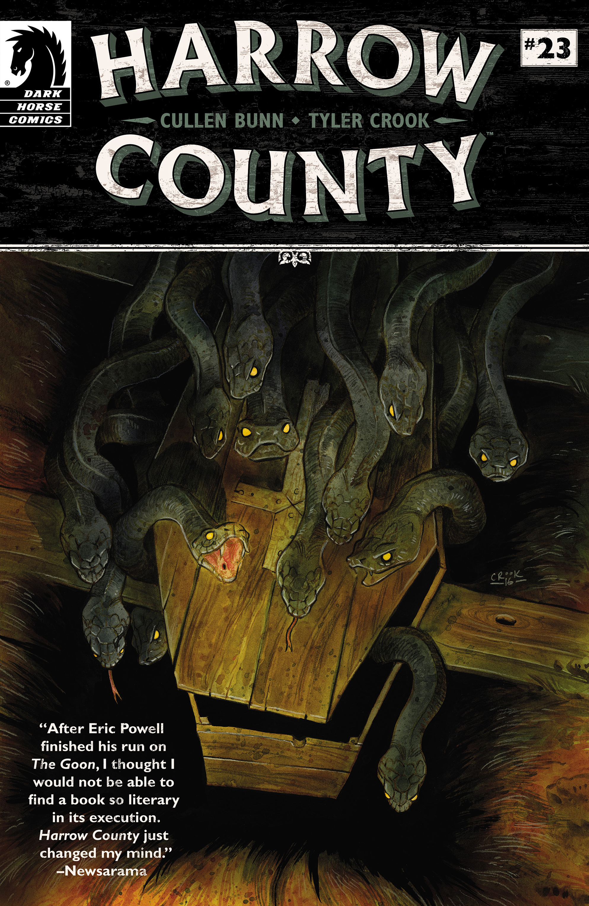 Read online Harrow County comic -  Issue #23 - 1