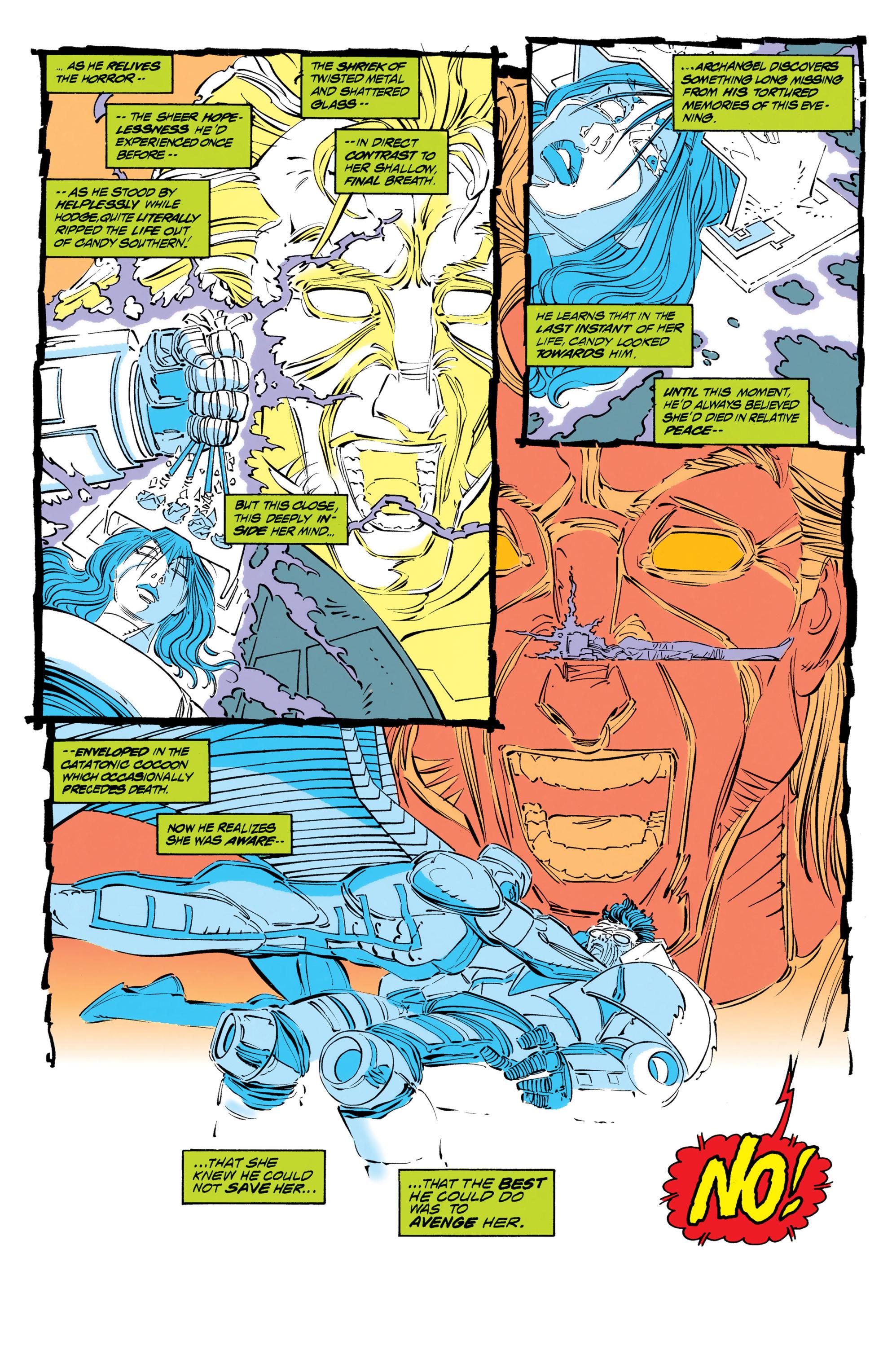 Read online Uncanny X-Men (1963) comic -  Issue #306 - 14