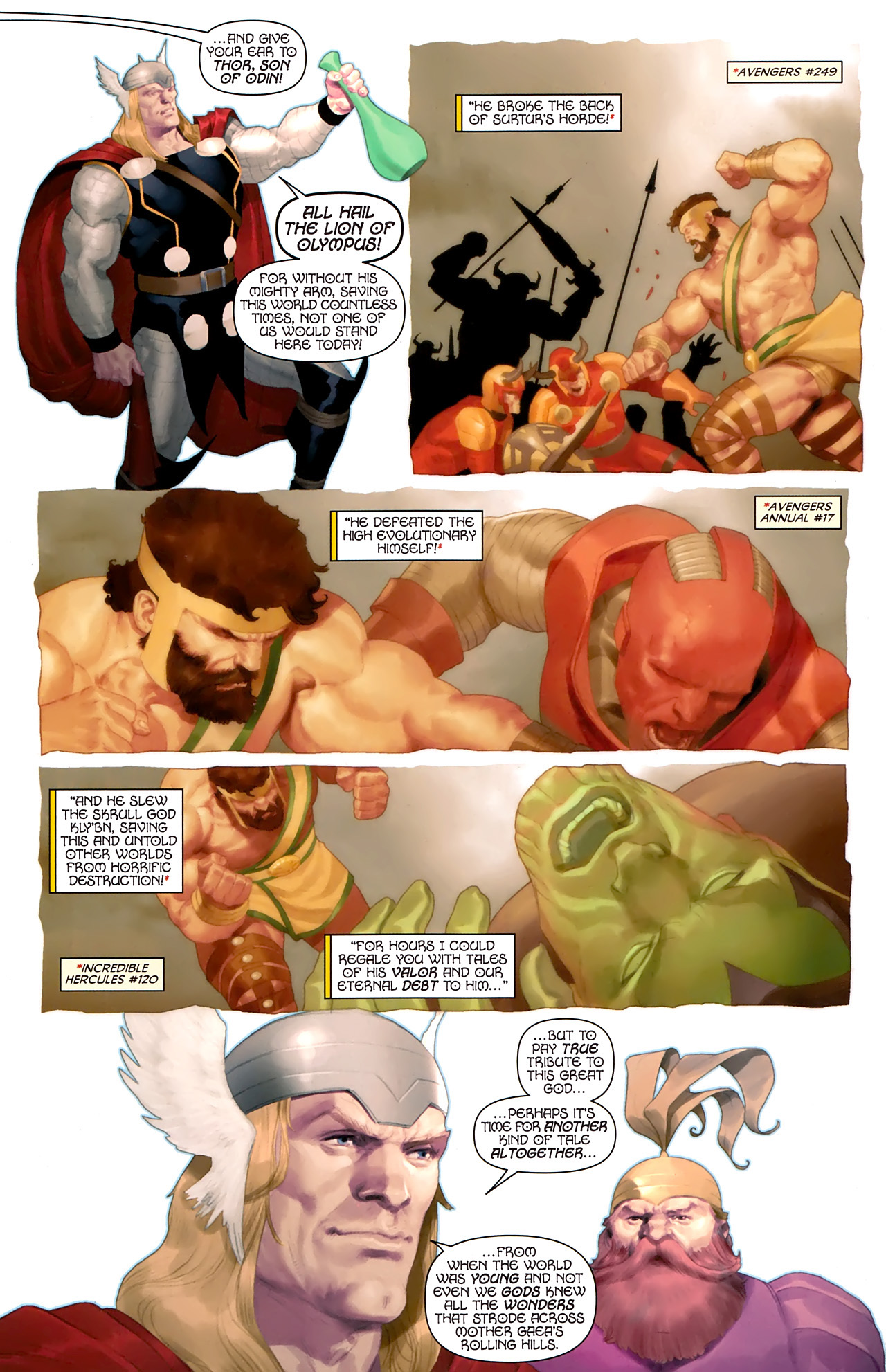 Read online Hercules: Fall of an Avenger comic -  Issue #1 - 8