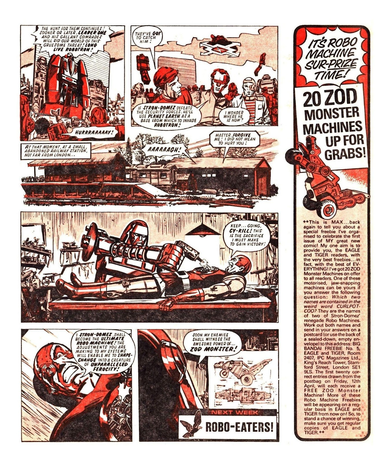 Read online Robo Machines comic -  Issue # TPB - 69