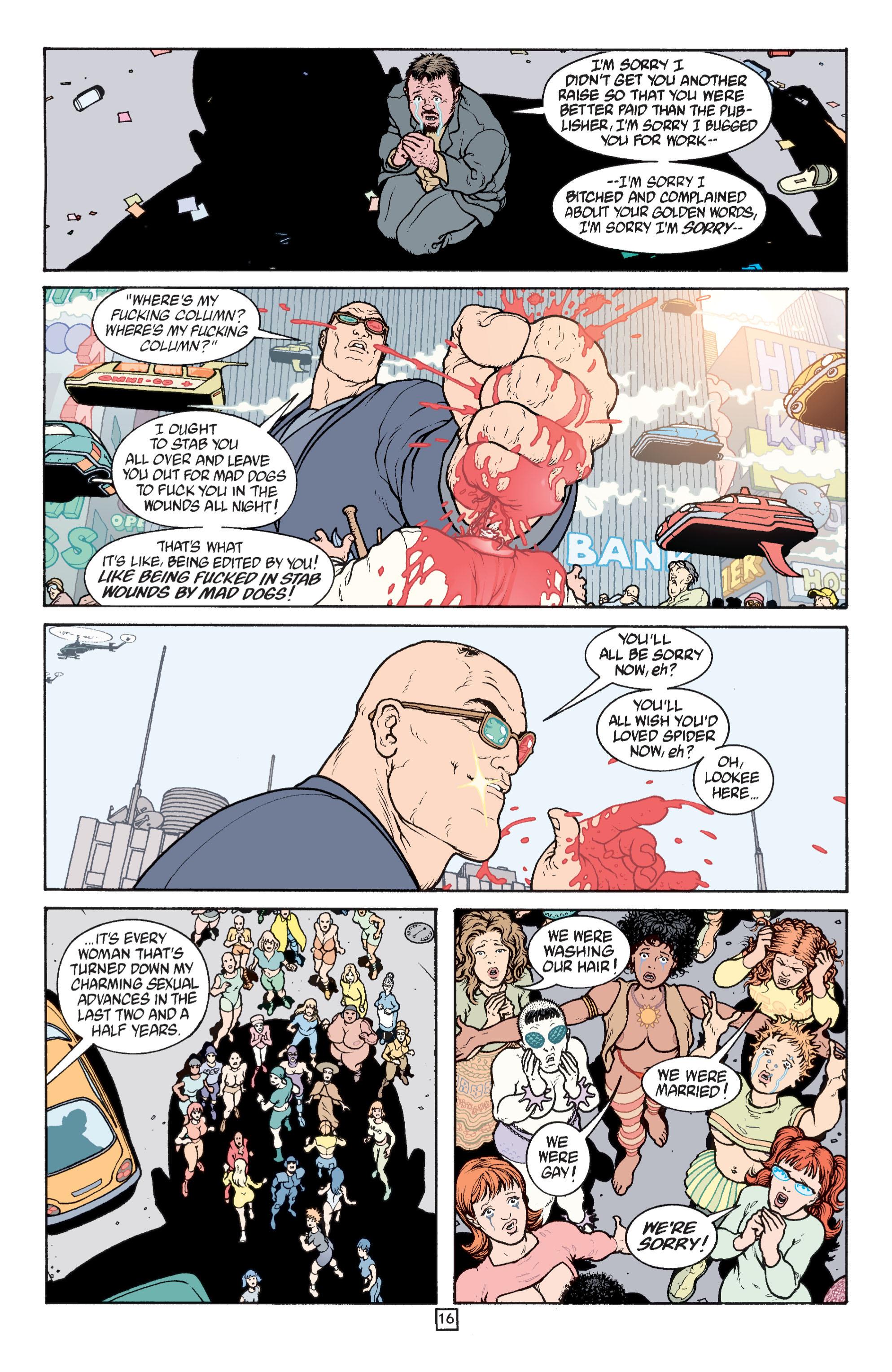 Read online Transmetropolitan comic -  Issue #31 - 17