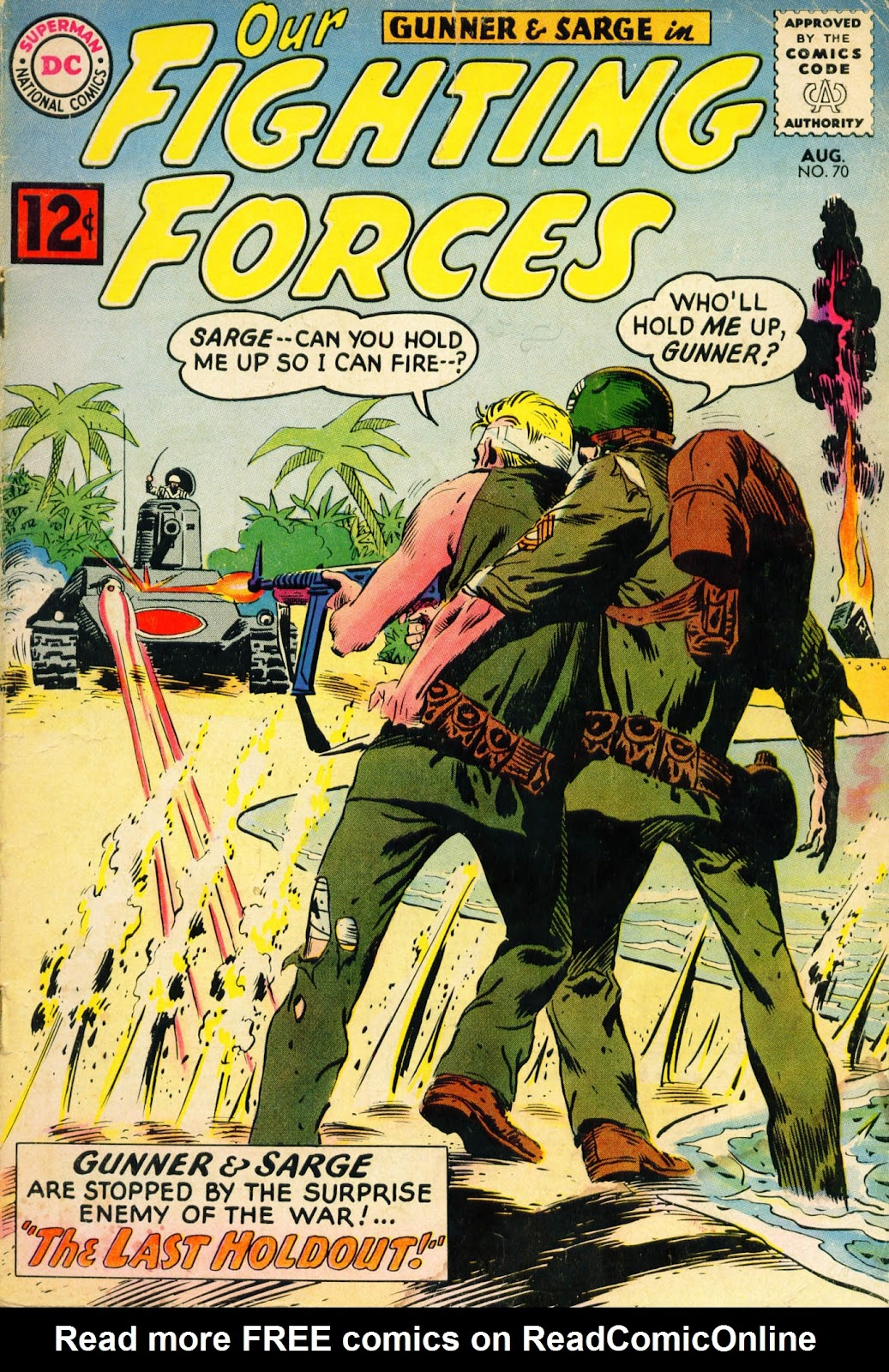 Our Fighting Forces (1954) issue 70 - Page 1
