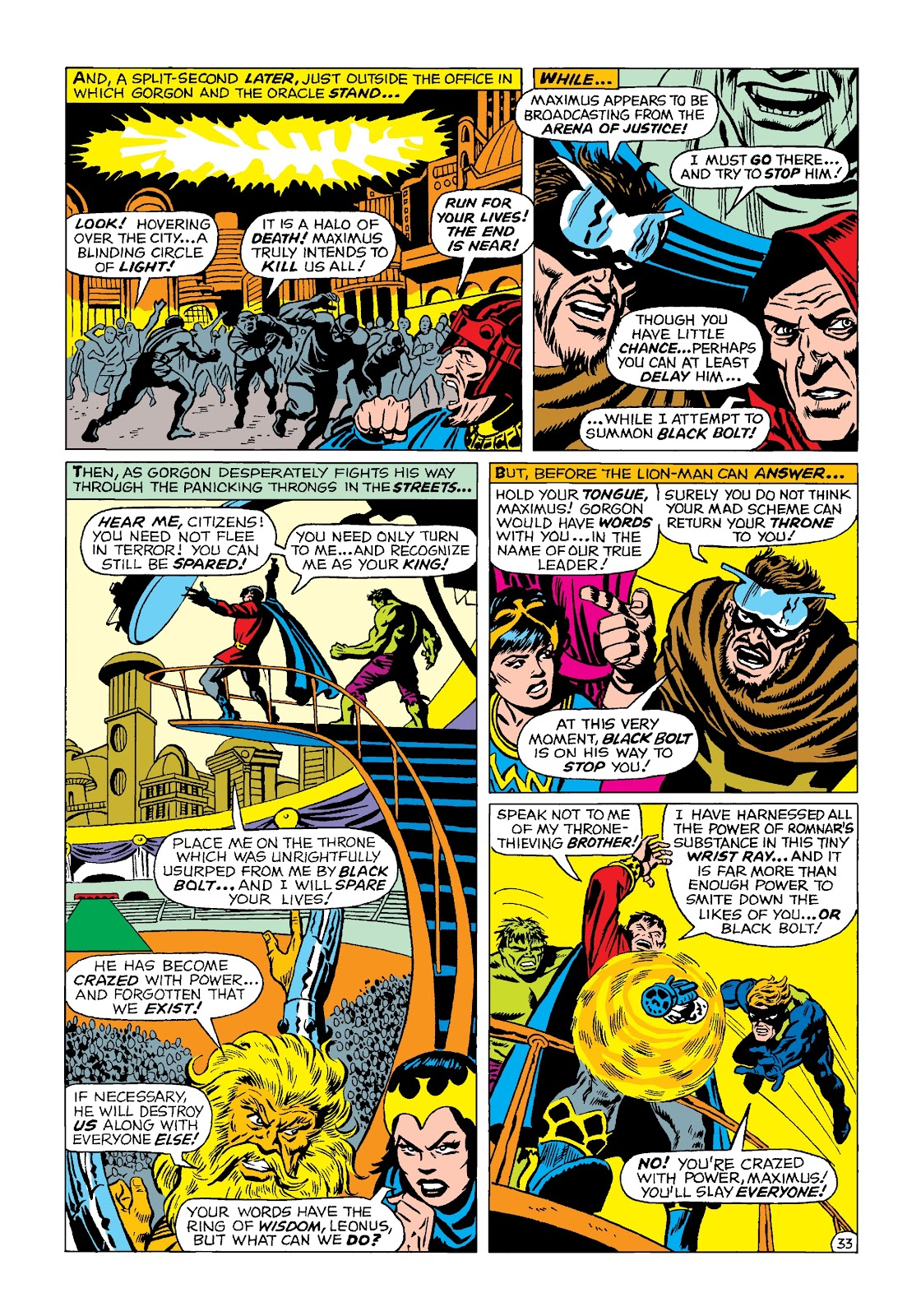 Read online Marvel Masterworks: The Incredible Hulk comic -  Issue # TPB 4 (Part 2) - 66