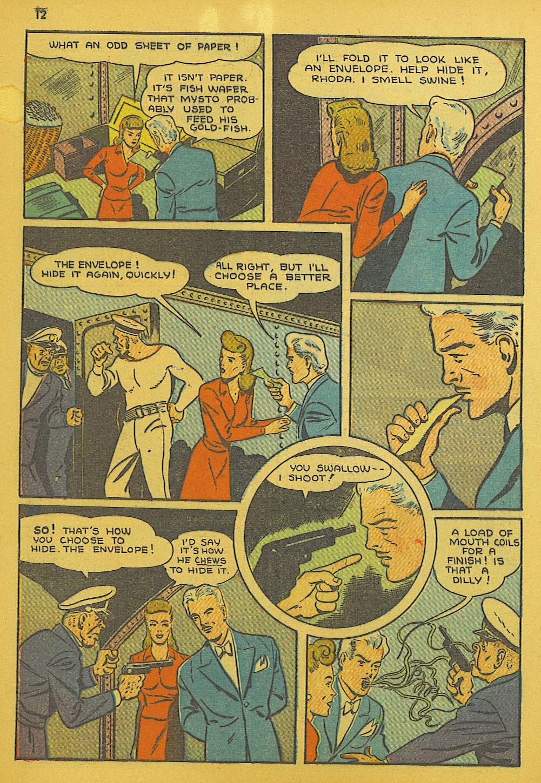 Read online Super-Magician Comics comic -  Issue #10 - 12