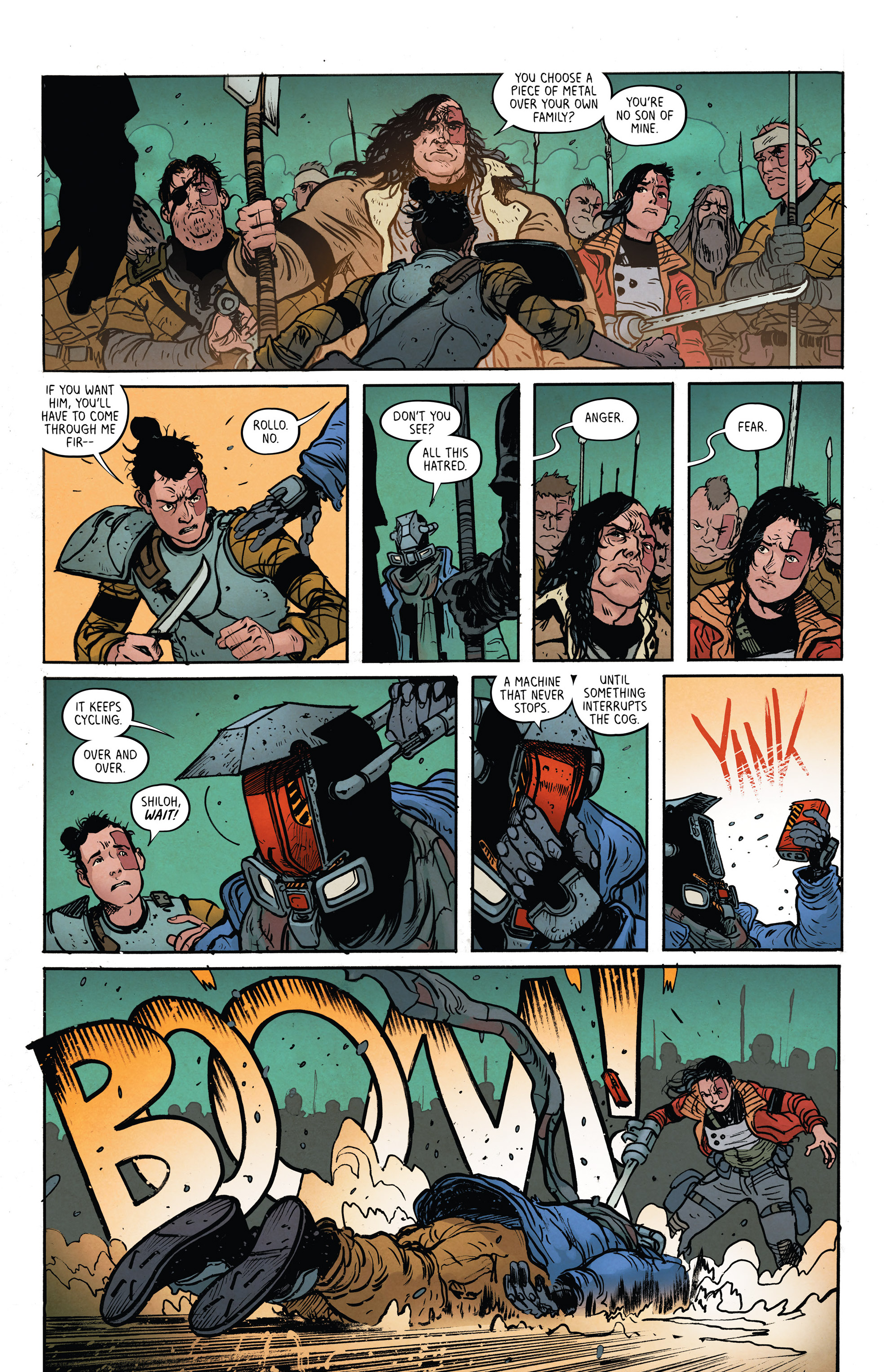 Read online Extremity comic -  Issue #4 - 24