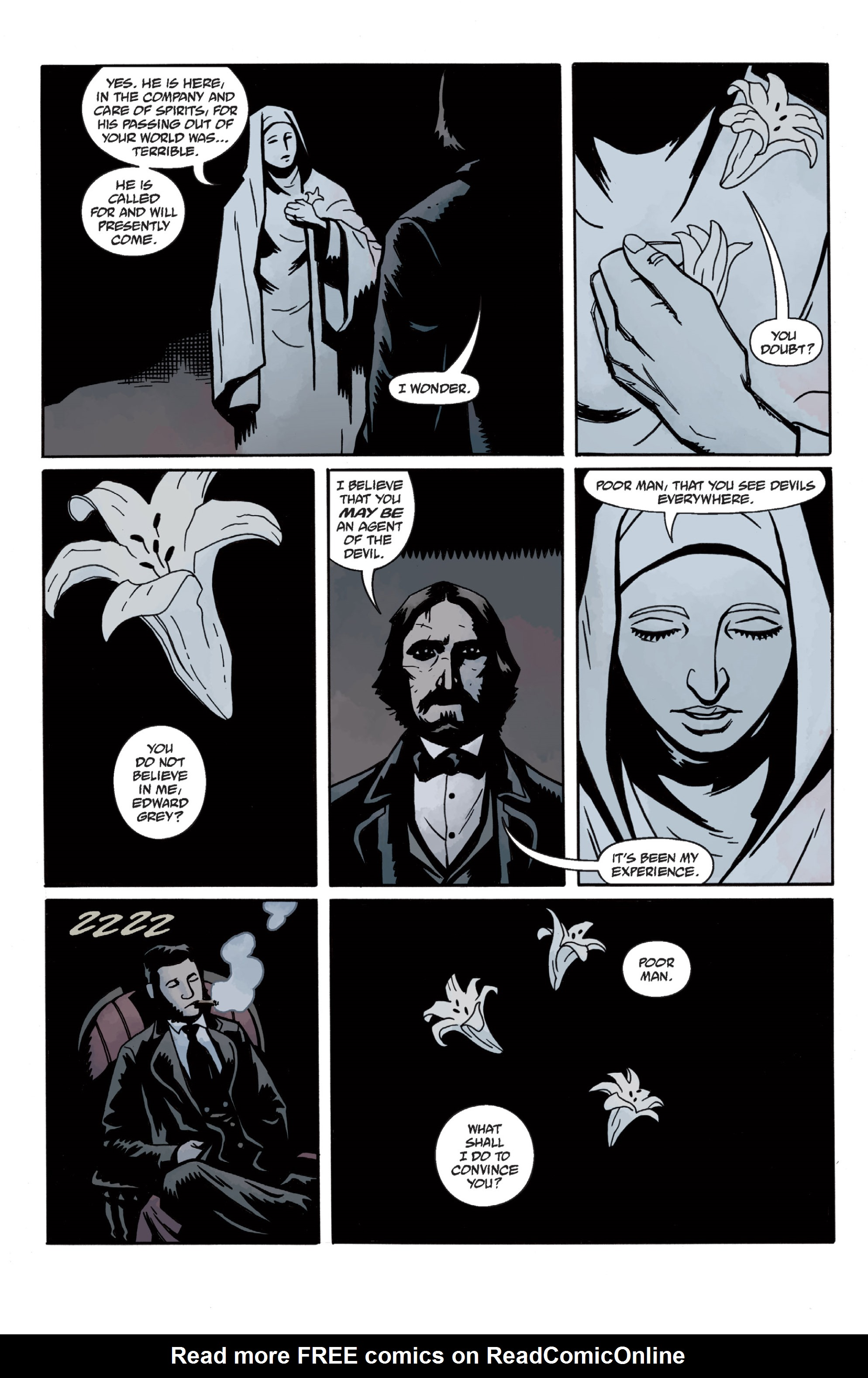Read online Sir Edward Grey, Witchfinder: In the Service of Angels comic -  Issue # TPB - 45