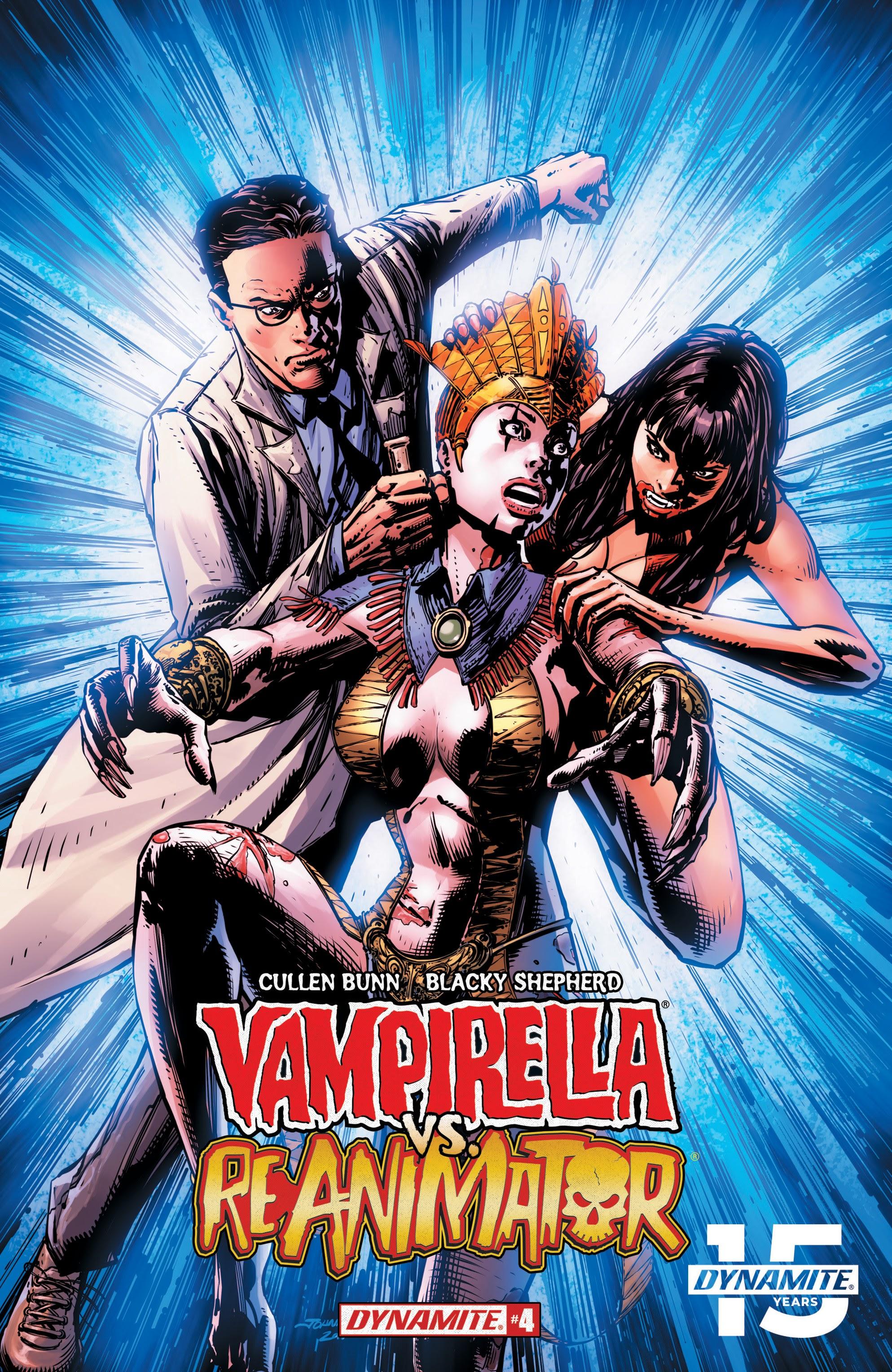 Vampirella vs. Reanimator 4 Page 1