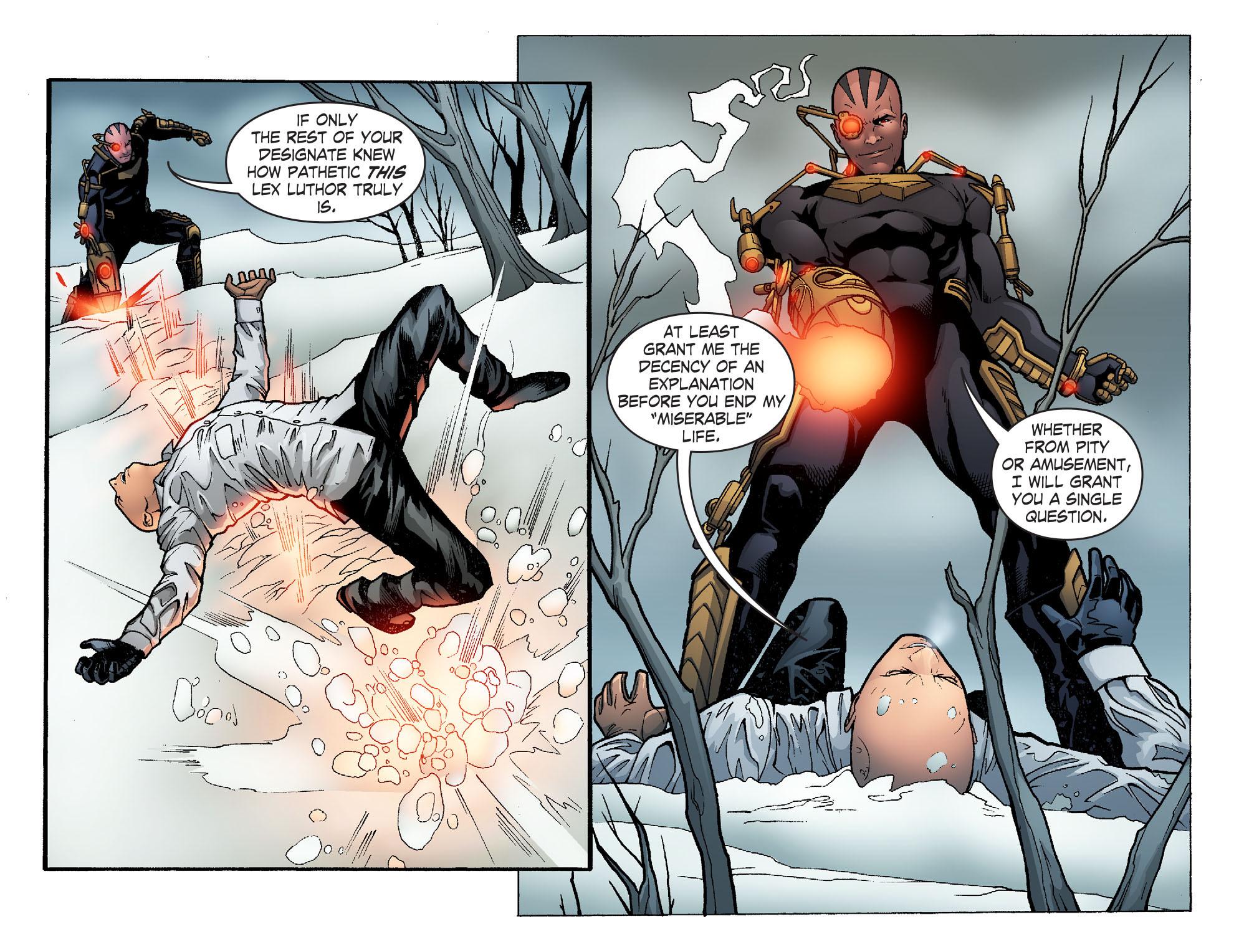 Read online Smallville: Alien comic -  Issue #10 - 12