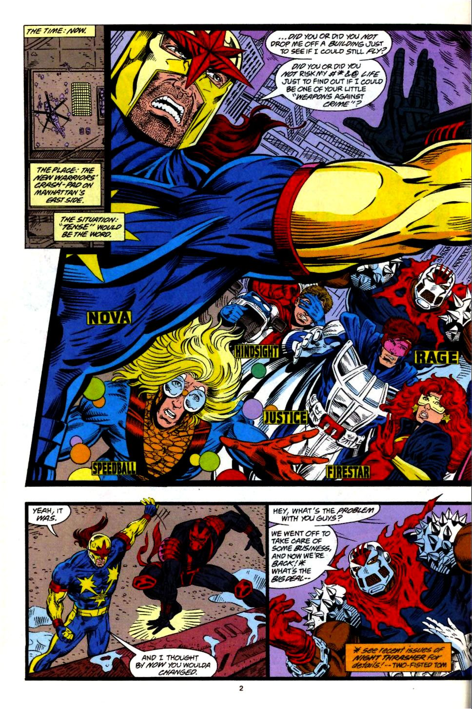 The New Warriors Issue #57 #61 - English 3
