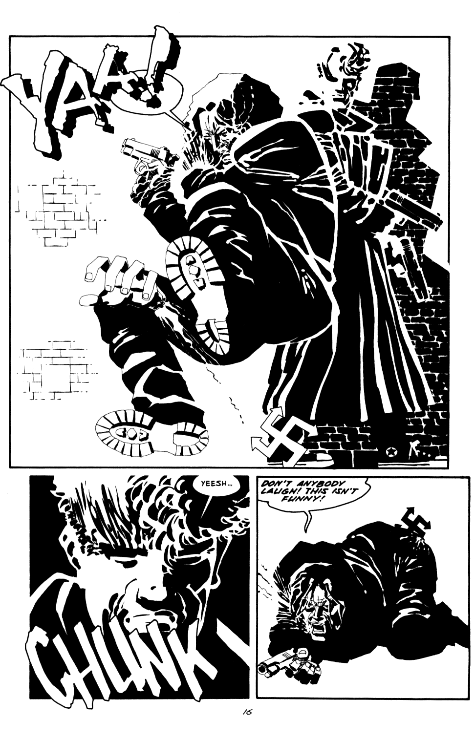 Read online Sin City: The Big Fat Kill comic -  Issue #2 - 17
