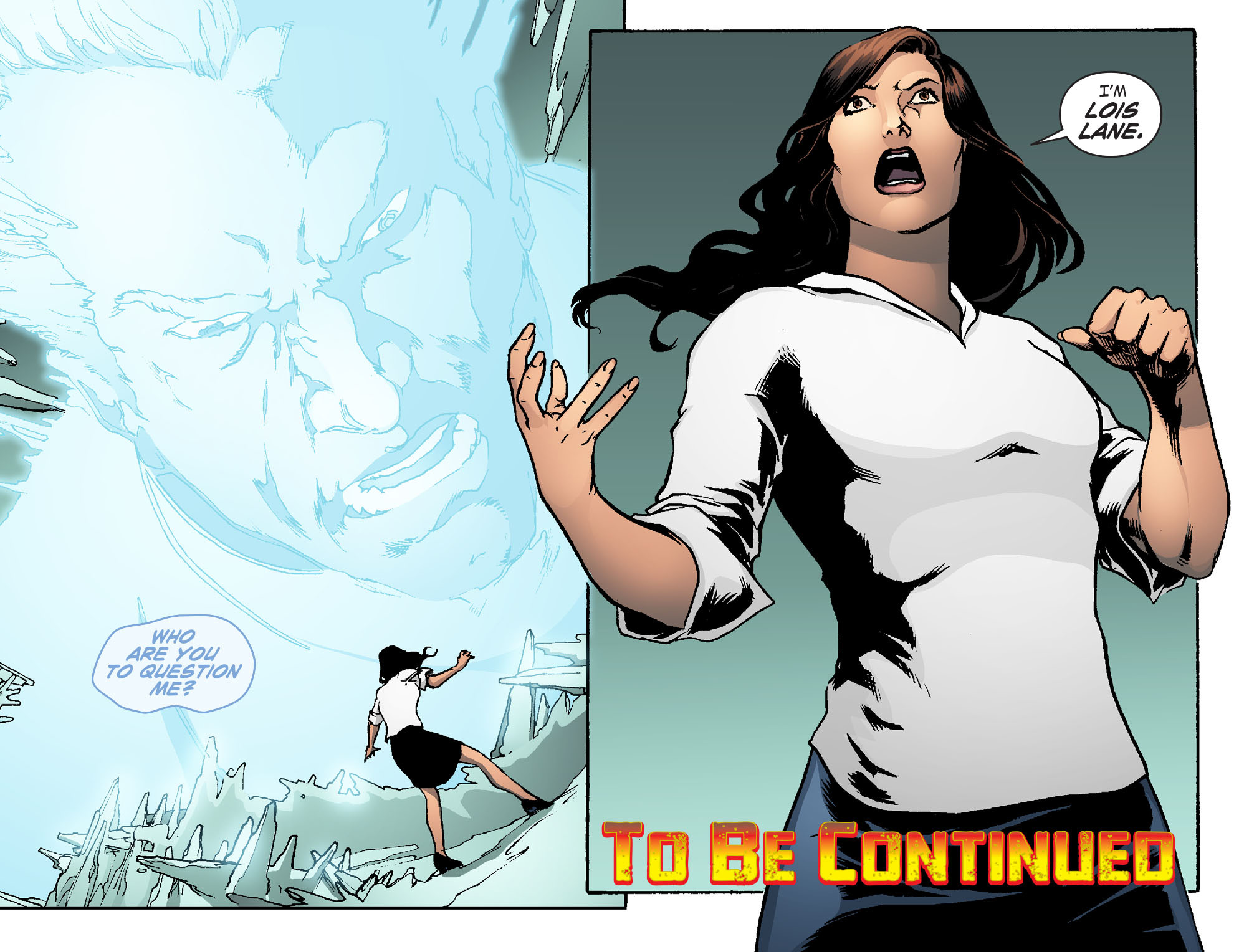 Read online Smallville: Chaos [II] comic -  Issue #5 - 22