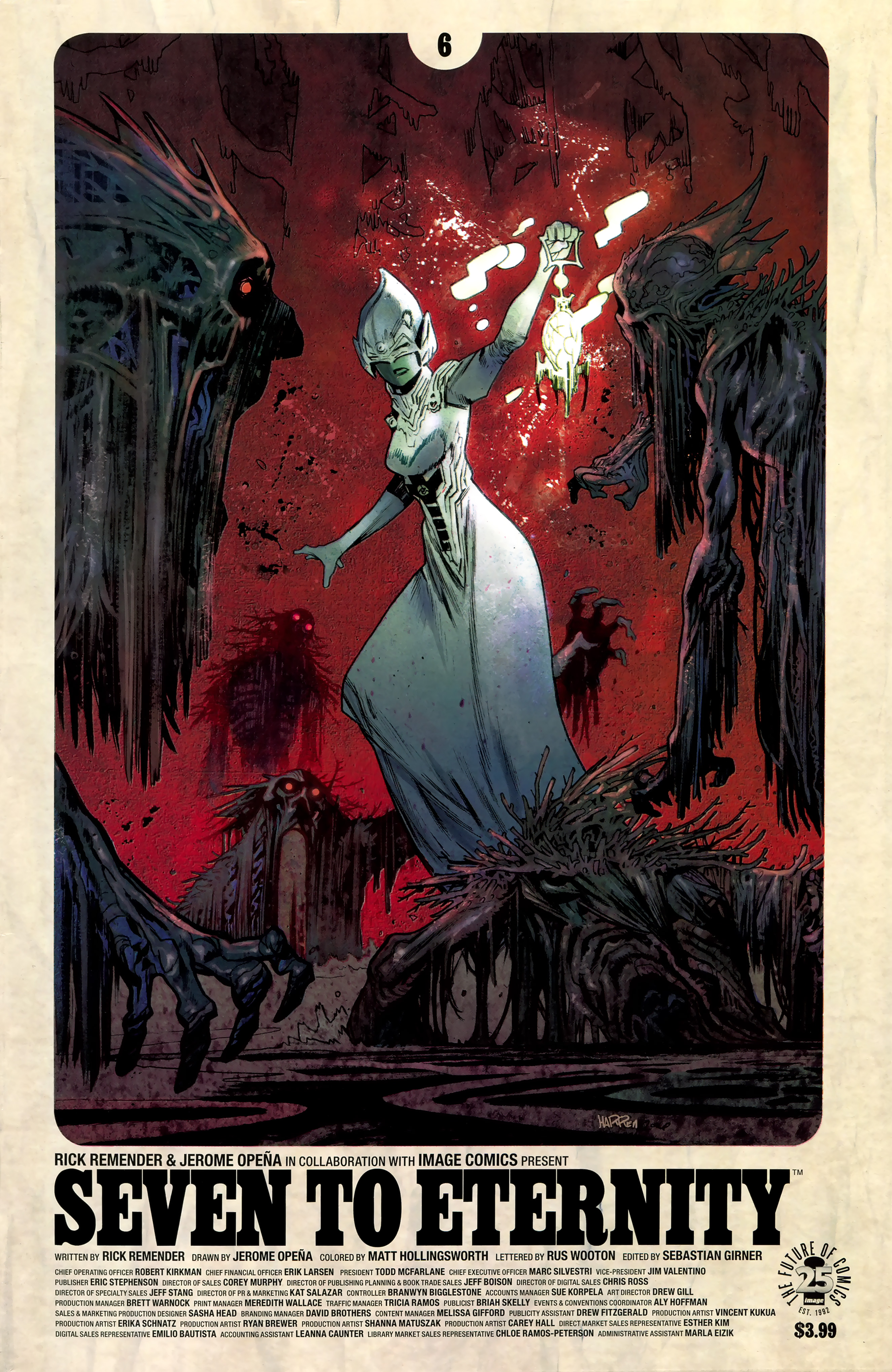 Read online Seven To Eternity comic -  Issue #6 - 2