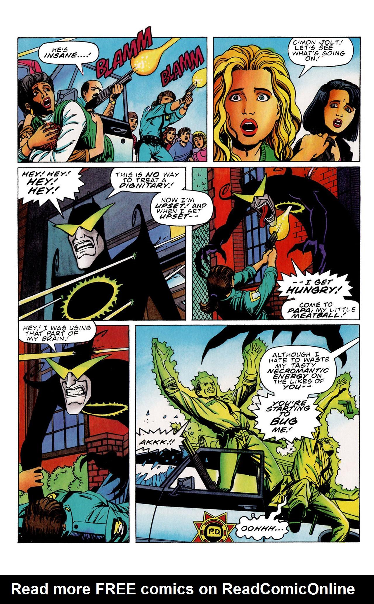 Read online Harbinger (1992) comic -  Issue #33 - 9