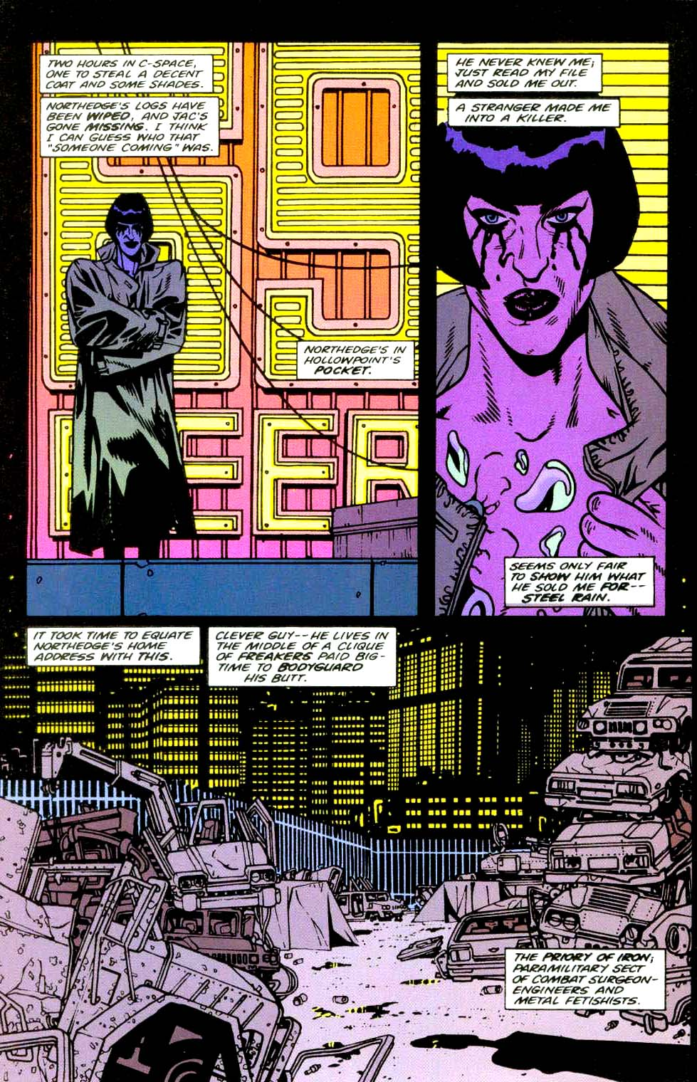 Read online 2099 Unlimited comic -  Issue #9 - 42