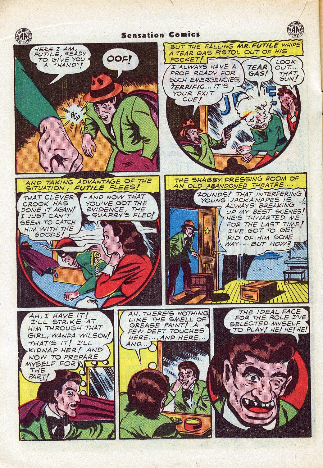 Read online Sensation (Mystery) Comics comic -  Issue #46 - 30