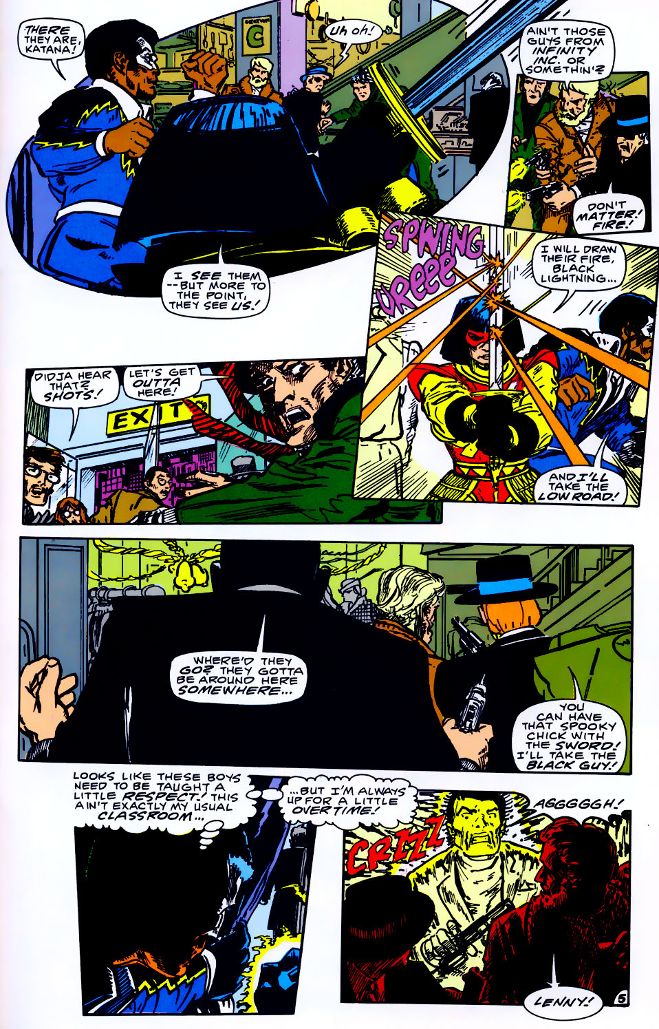 Read online Adventures of the Outsiders comic -  Issue #43 - 26