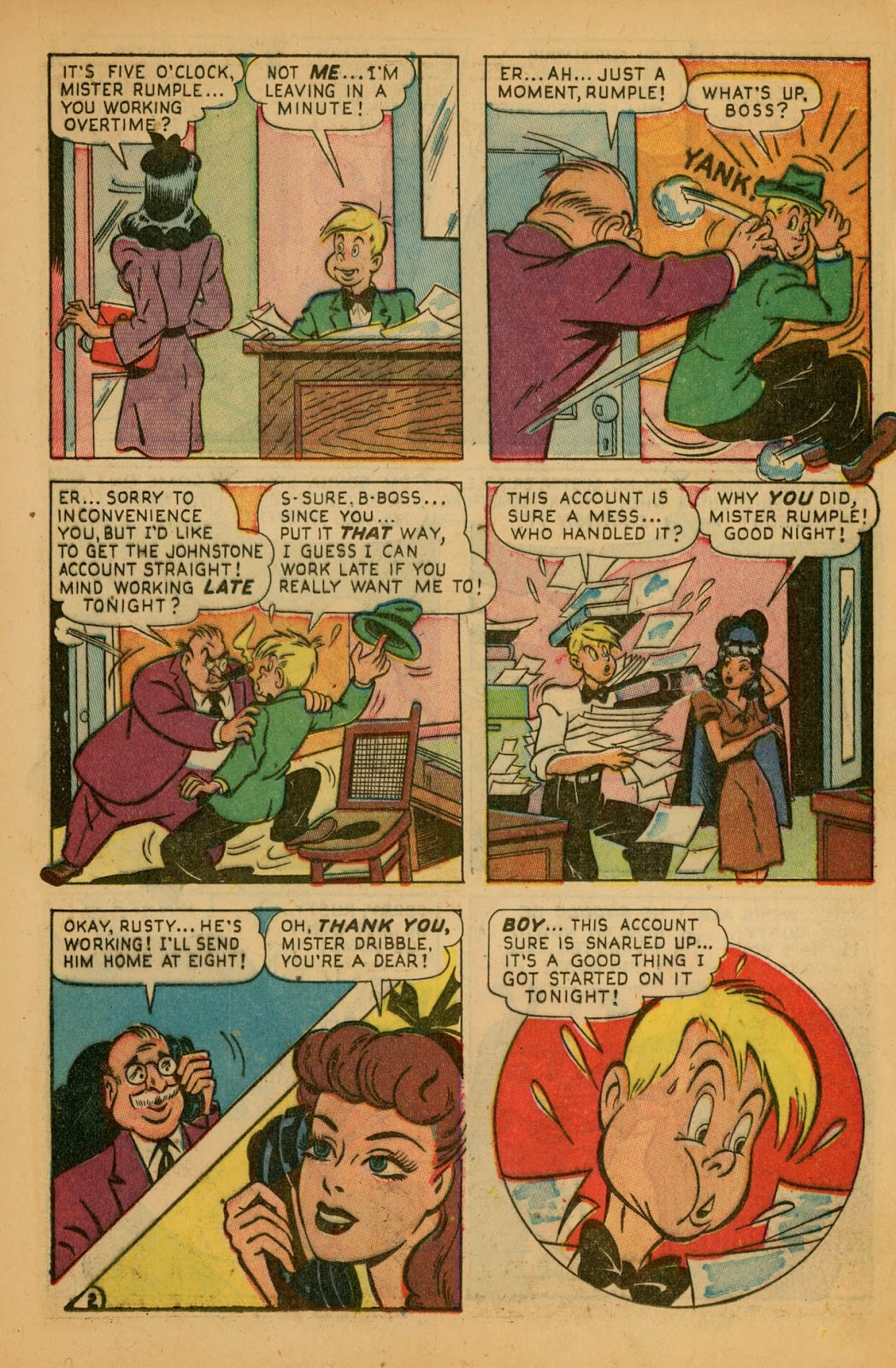 Read online Millie the Model comic -  Issue #7 - 35