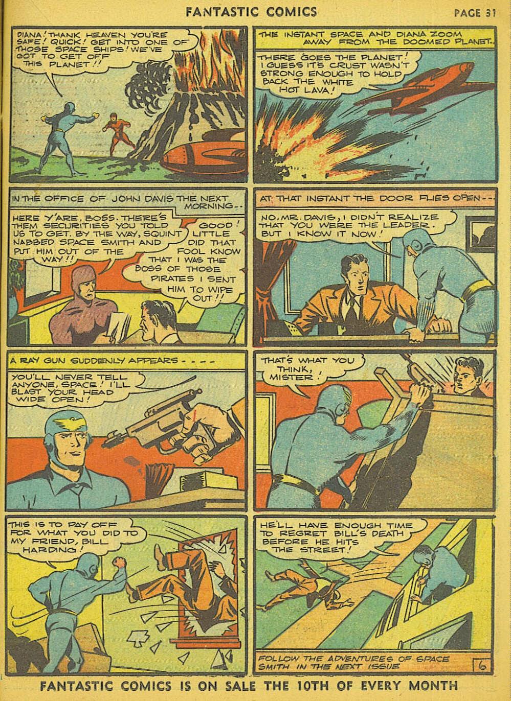 Read online Fantastic Comics comic -  Issue #15 - 26