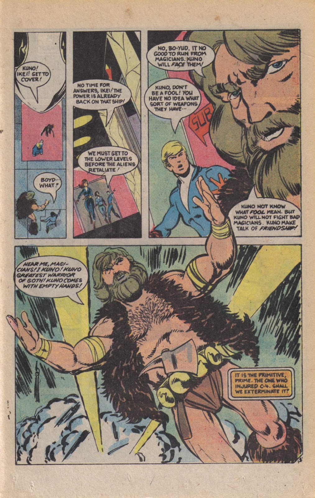 Read online Doomsday   1 (1975) comic -  Issue #9 - 24