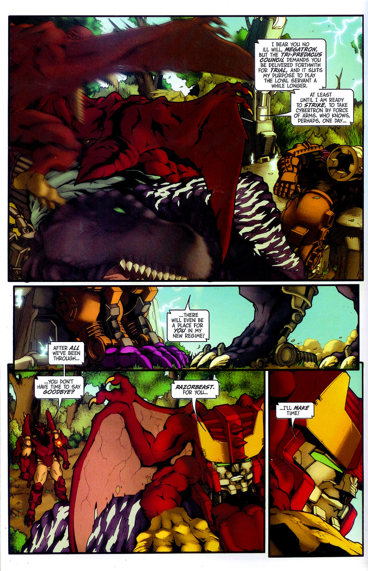 Read online Transformers, Beast Wars: The Gathering comic -  Issue #4 - 13