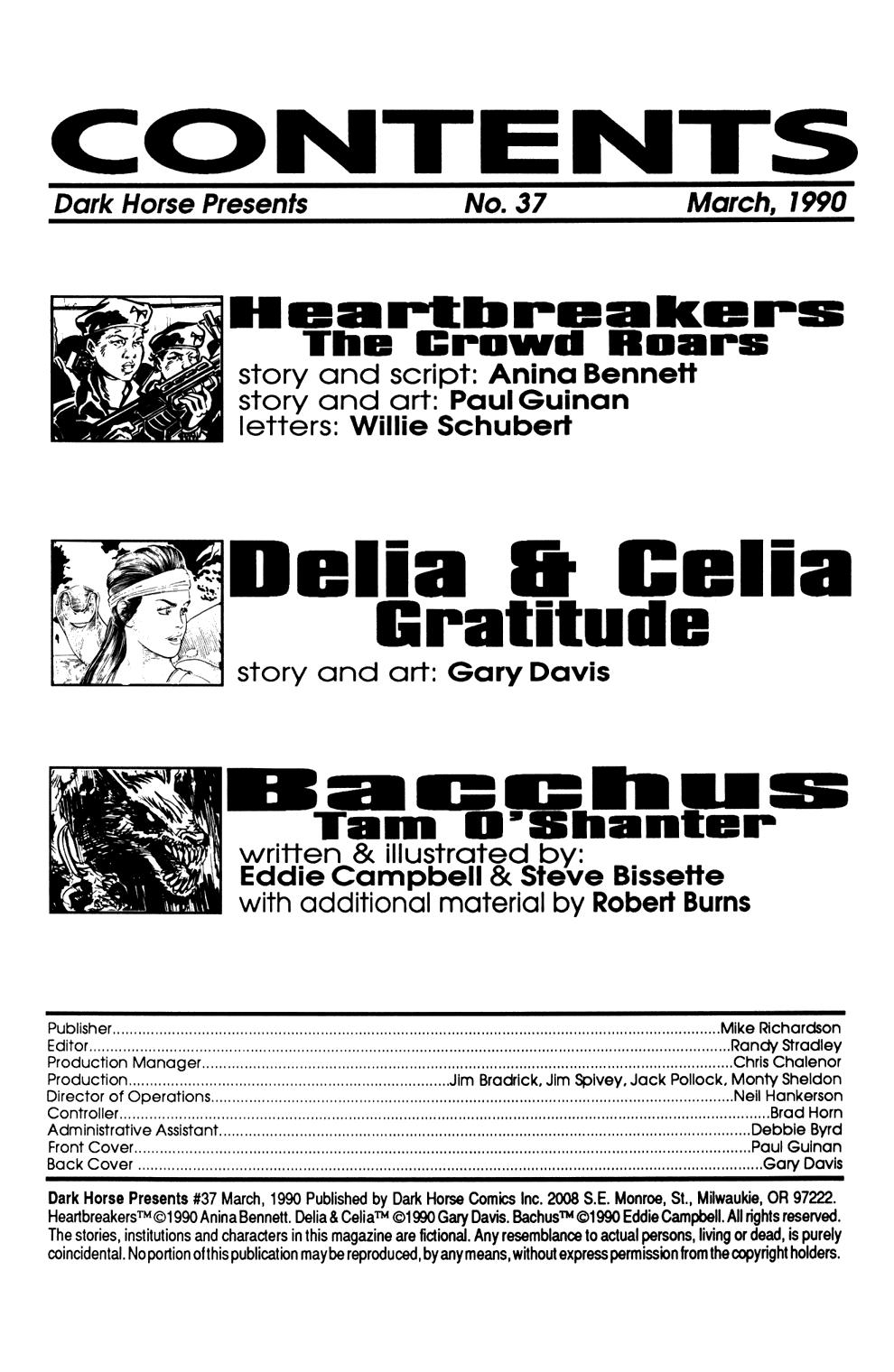 Dark Horse Presents (1986) Issue #37 #42 - English 2