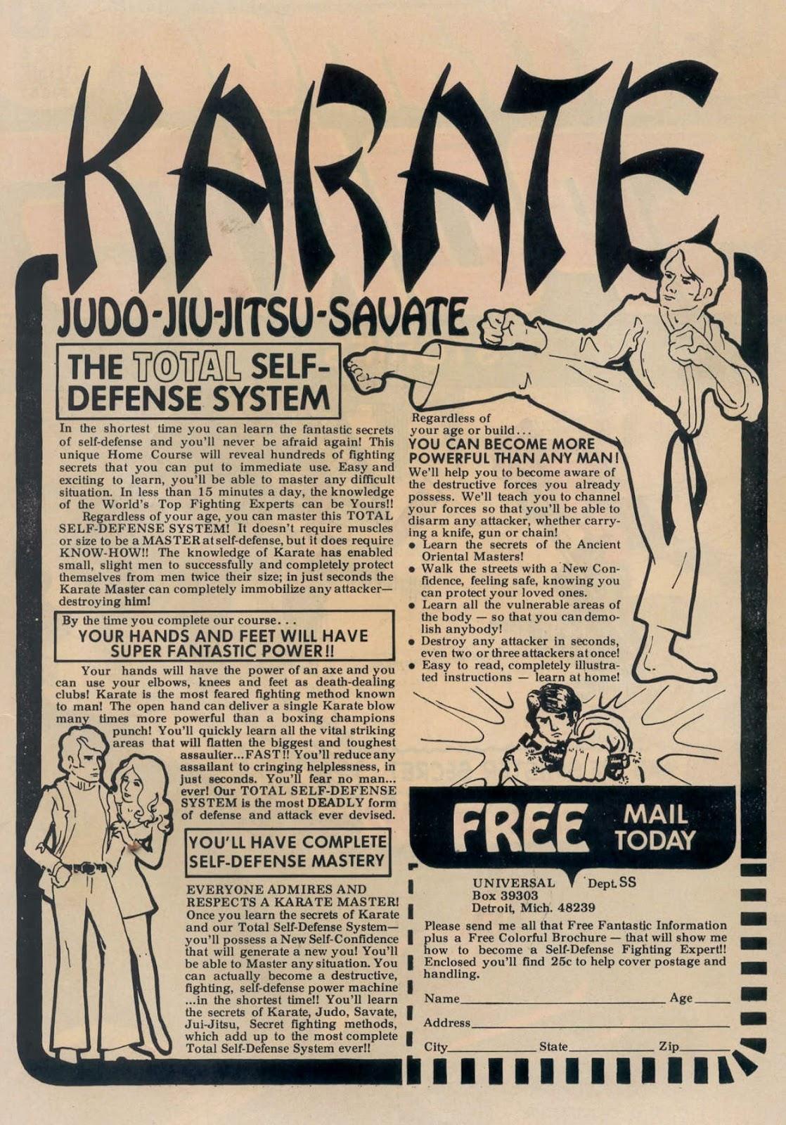 Read online Strange Sports Stories (1973) comic -  Issue #5 - 2