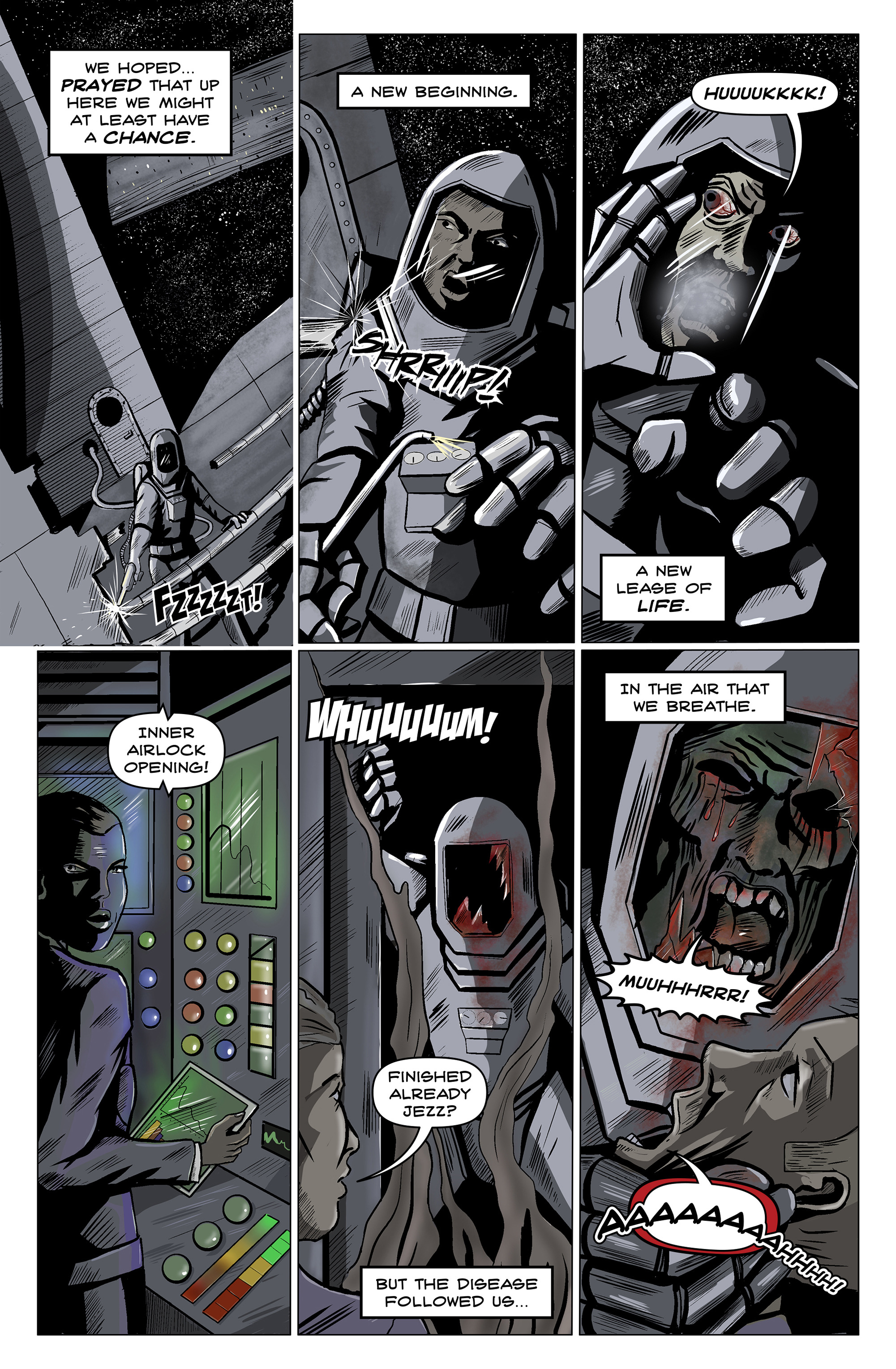 Read online 100% Biodegradable comic -  Issue #14 - 26