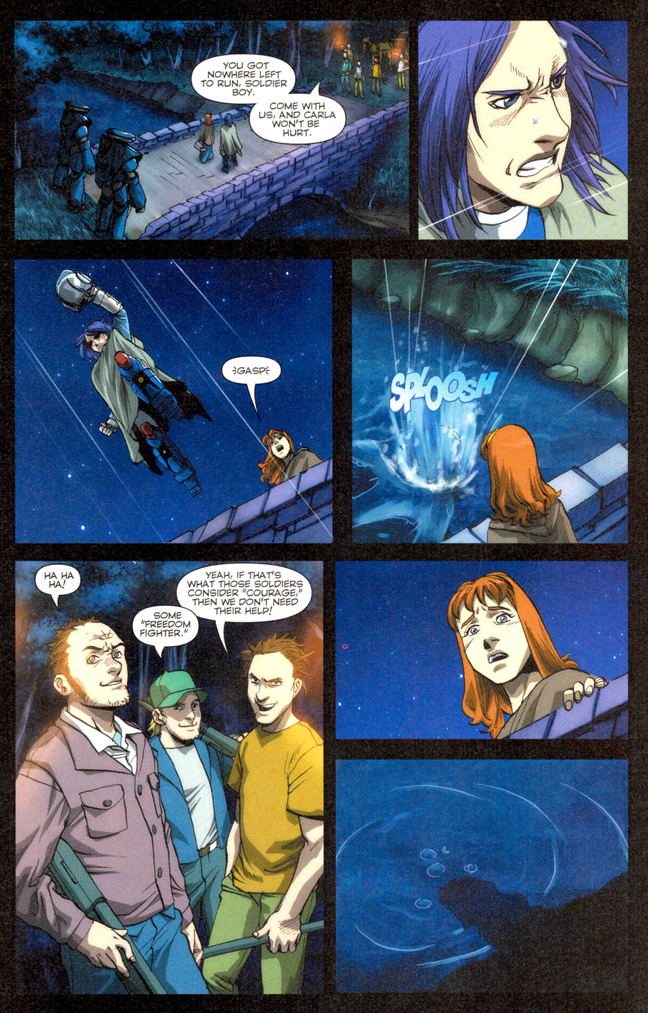 Read online Robotech: Invasion comic -  Issue #3 - 9