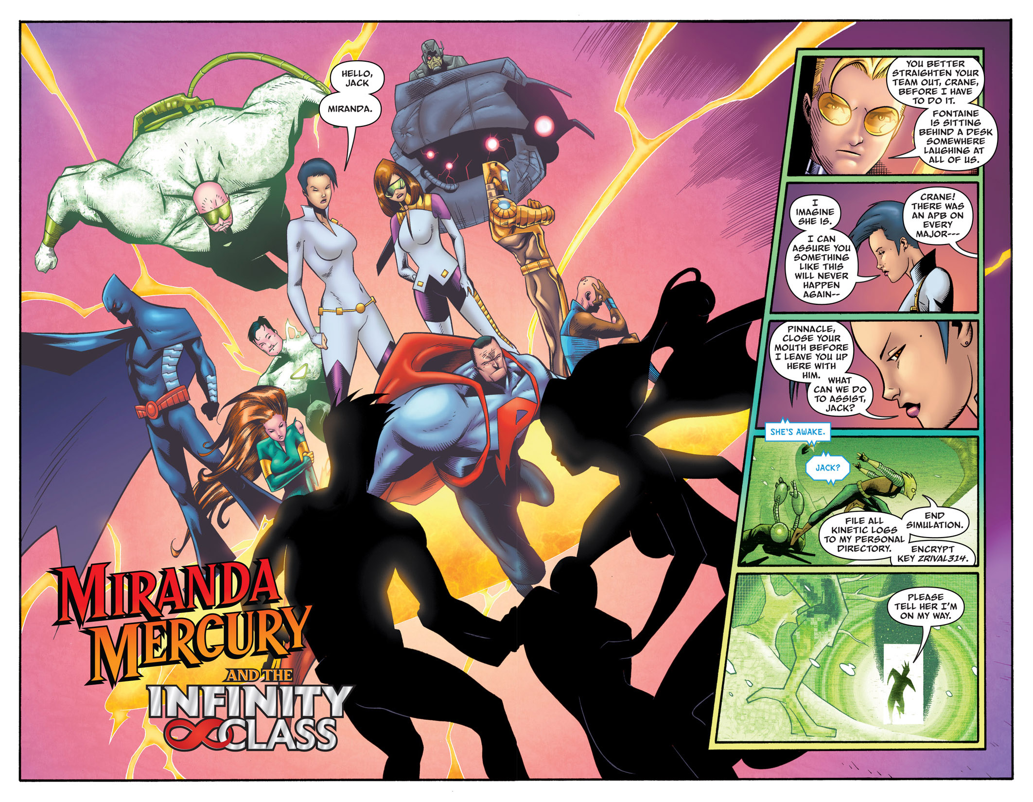 Read online The Many Adventures of Miranda Mercury: Time Runs Out comic -  Issue # TPB - 111