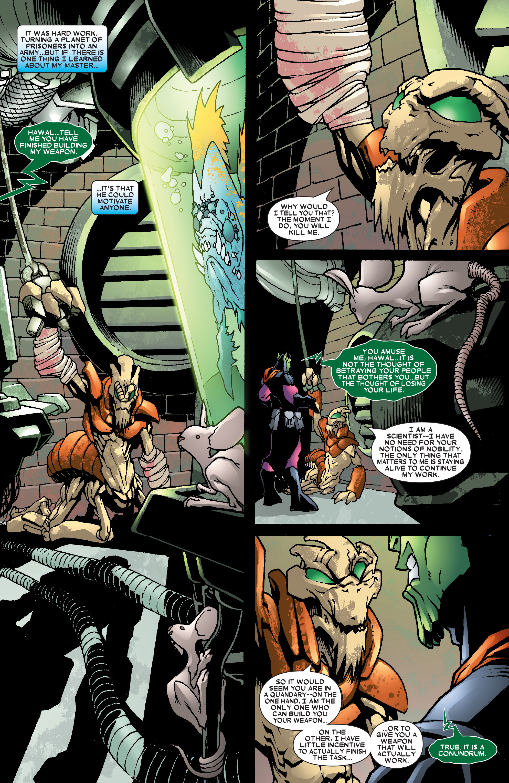Read online Annihilation: Super-Skrull comic -  Issue #3 - 10