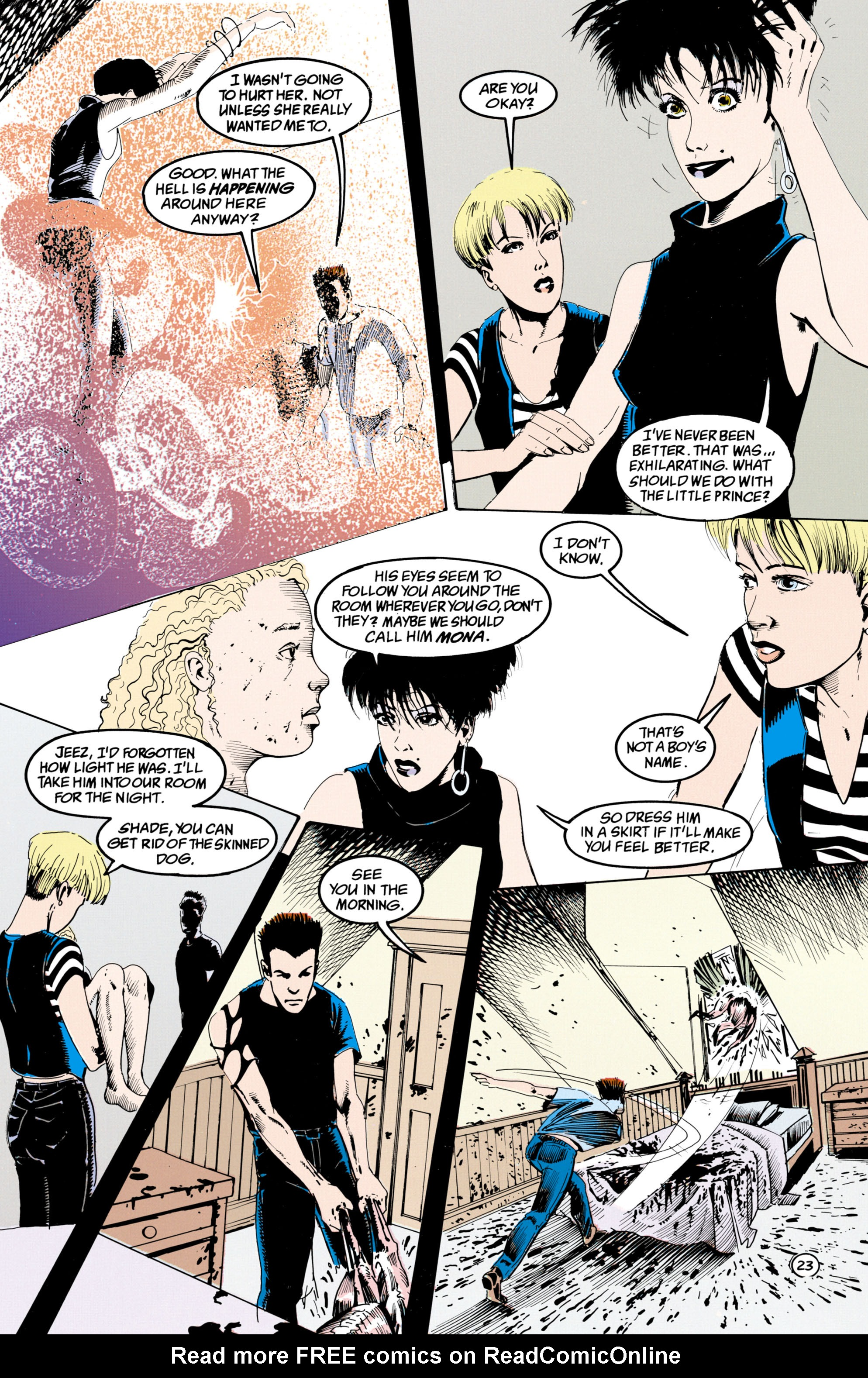 Read online Shade, the Changing Man comic -  Issue #36 - 24