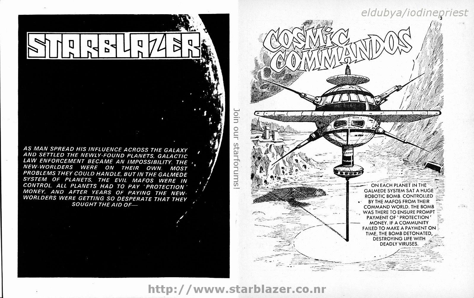 Starblazer issue 119 - Page 3