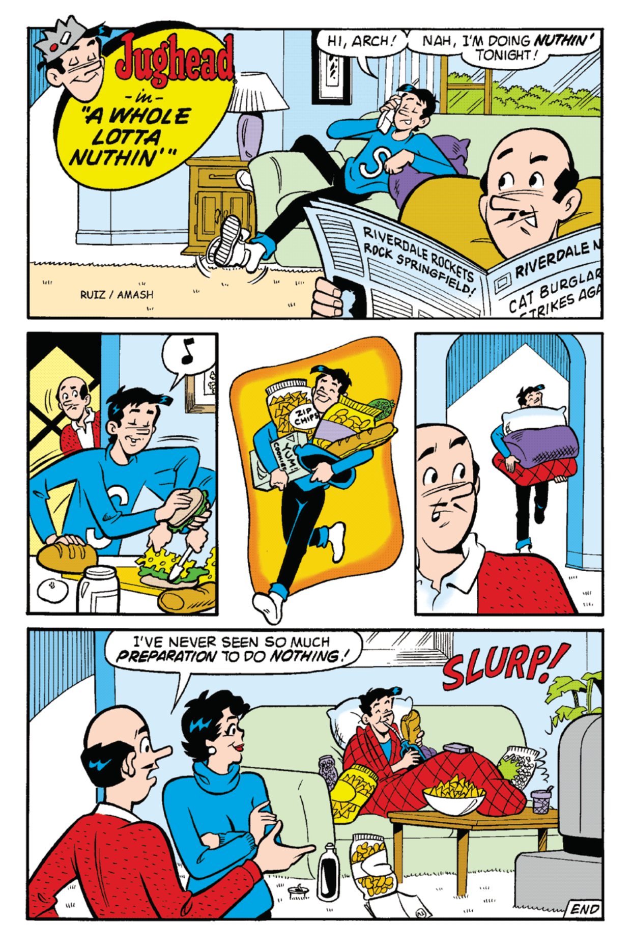 Read online Archie's Weird Mysteries comic -  Issue #22 - 8