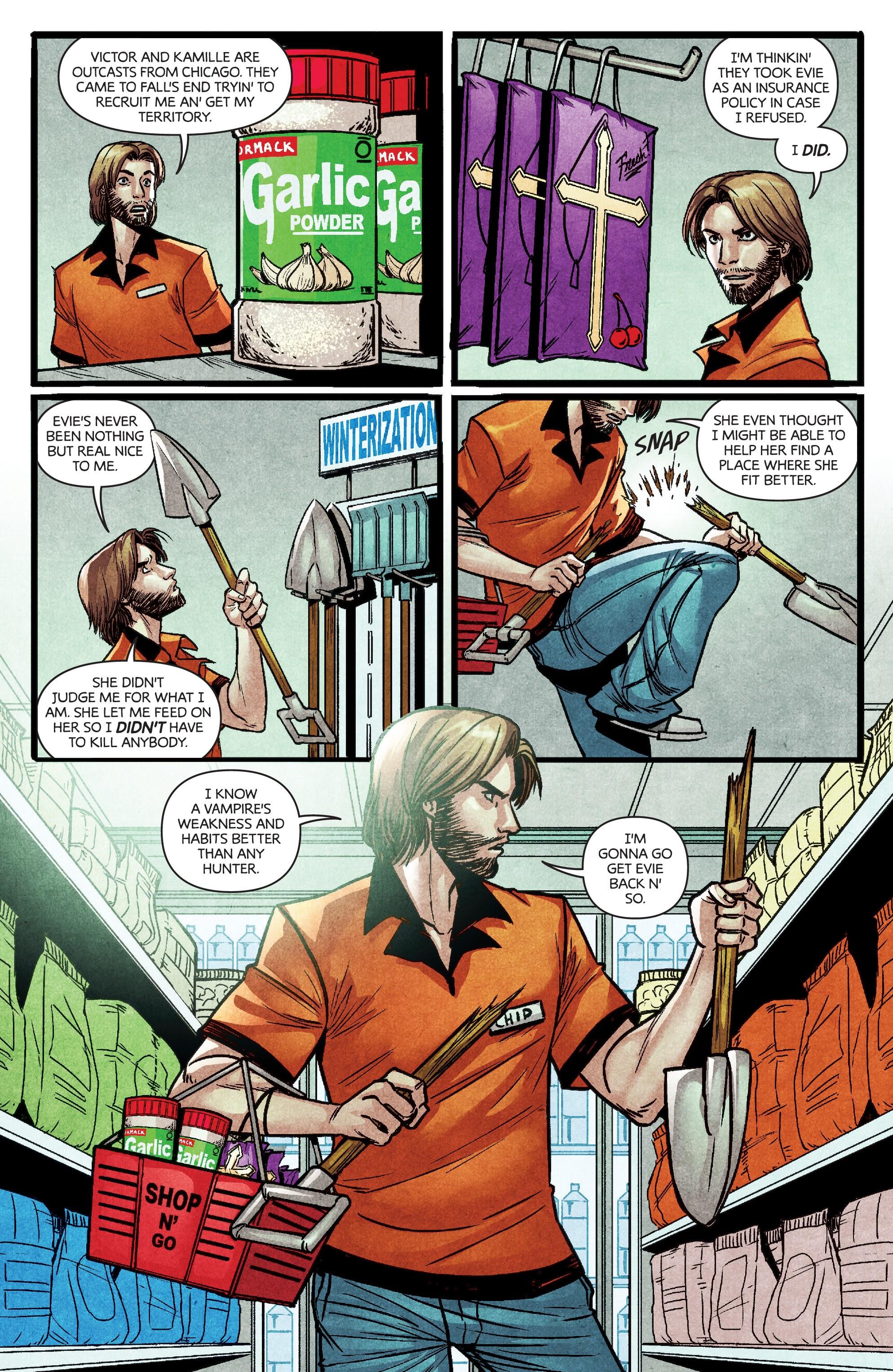 Read online Dark Red comic -  Issue #4 - 10