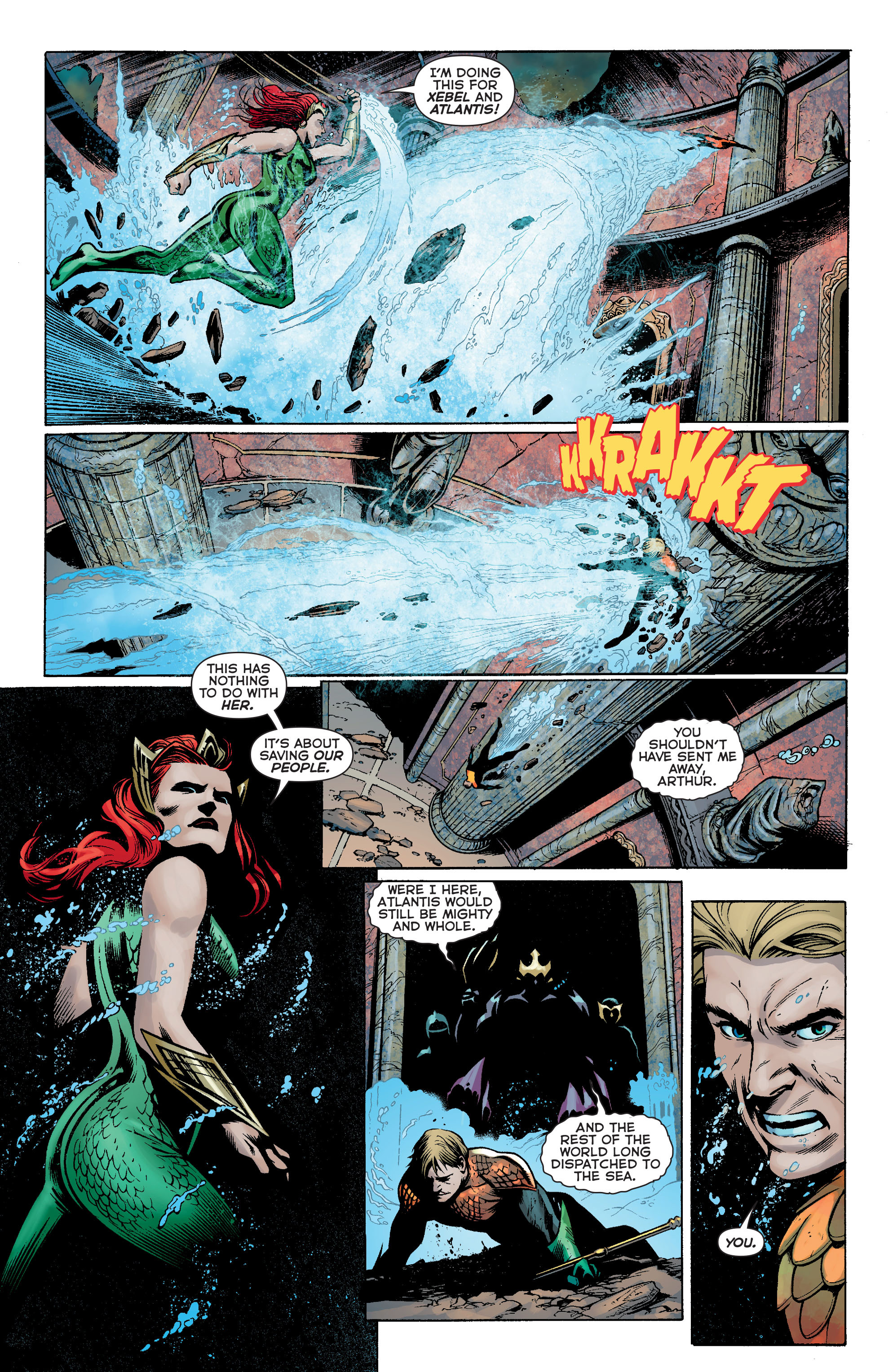 Read online Aquaman: Futures End comic -  Issue #Aquaman: Futures End Full - 18