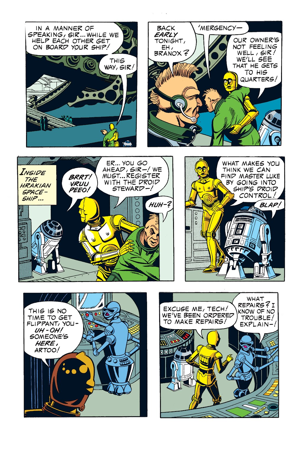 Read online Star Wars Legends: The Newspaper Strips - Epic Collection comic -  Issue # TPB (Part 1) - 67