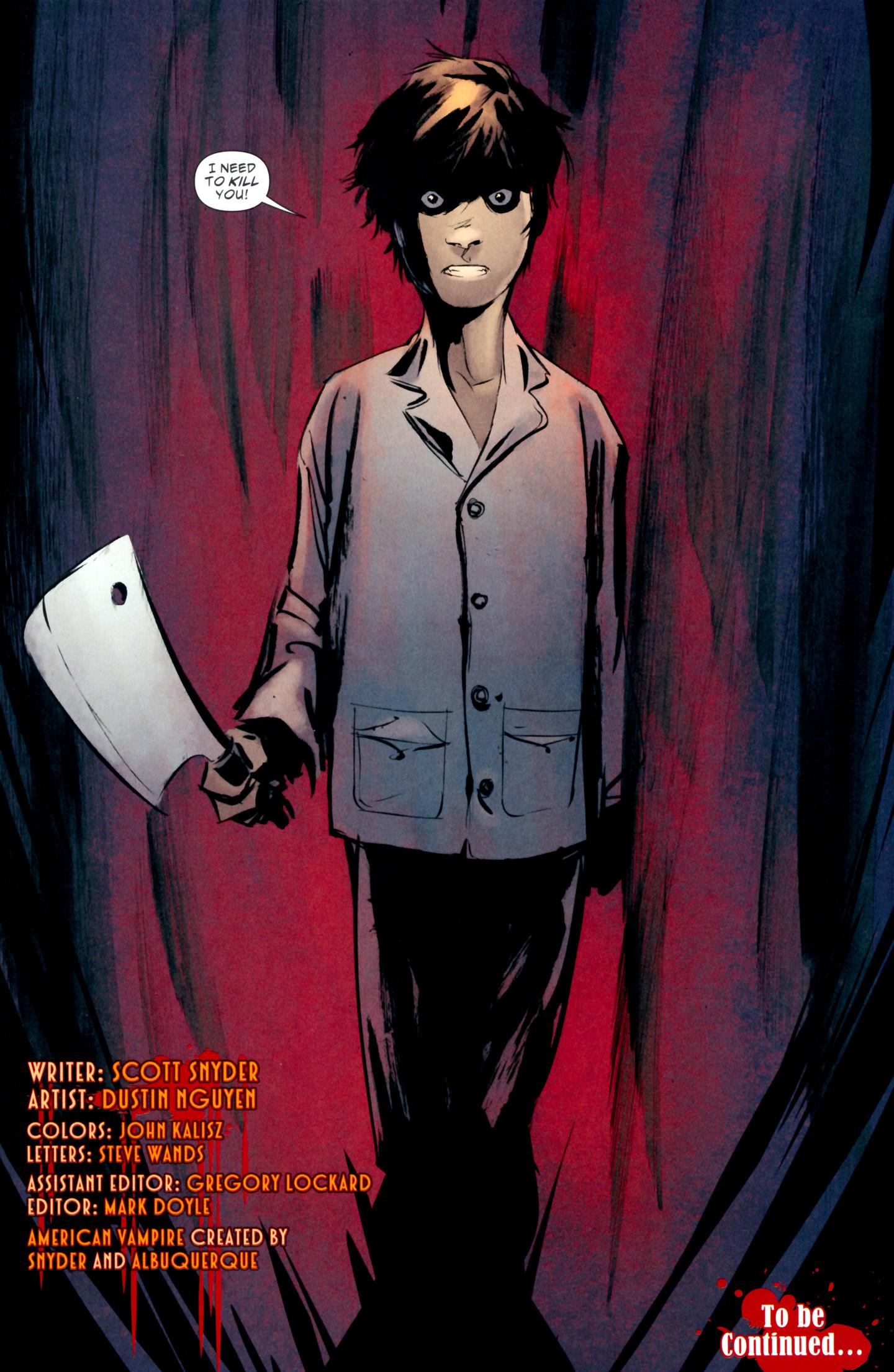 Read online American Vampire: Lord of Nightmares comic -  Issue #2 - 23