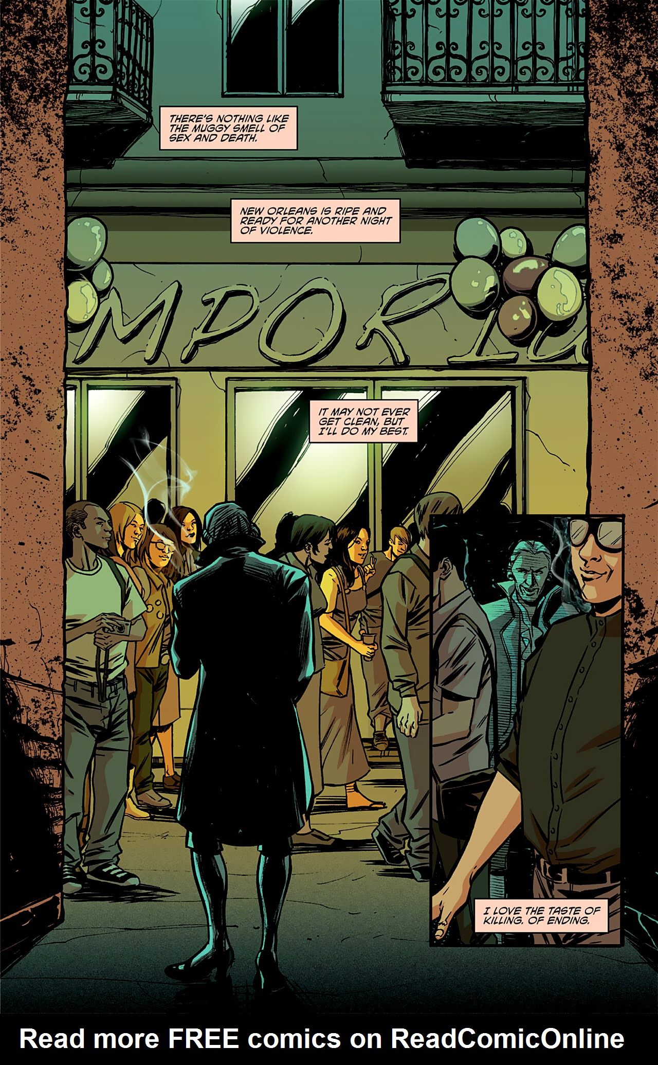 Read online True Blood: French Quarter comic -  Issue #4 - 6