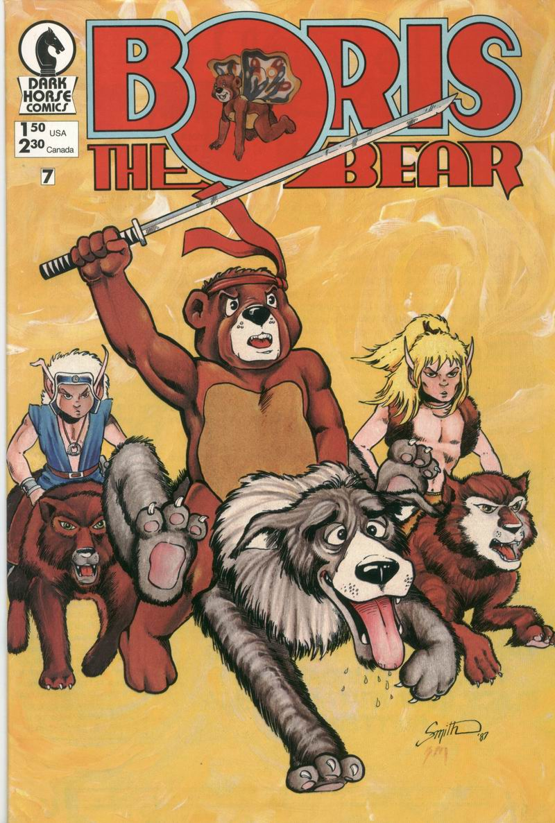 Boris The Bear 7 Page 1