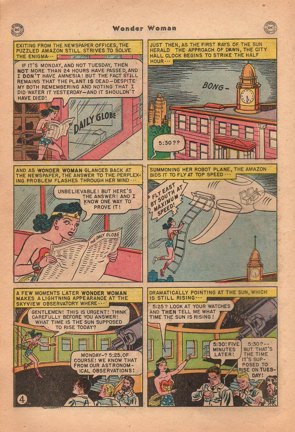 Read online Wonder Woman (1942) comic -  Issue #42 - 21