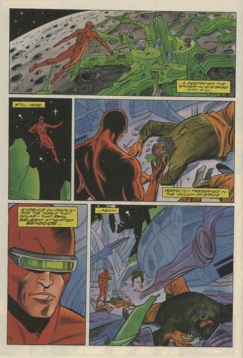 Read online Solar, Man of the Atom comic -  Issue #21 - 10