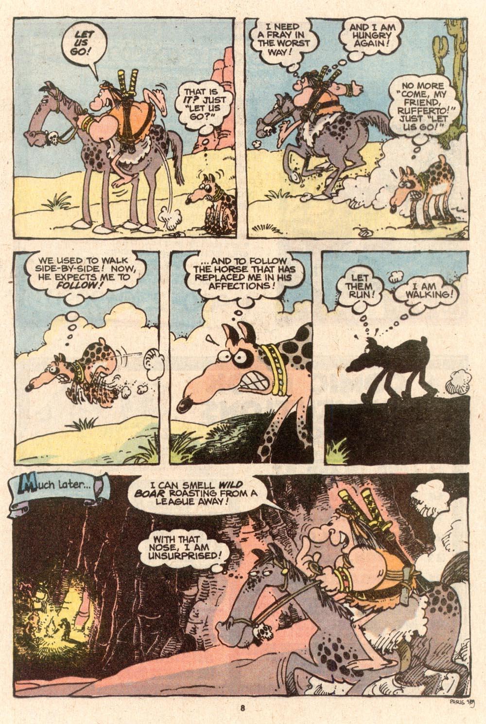 Read online Sergio Aragonés Groo the Wanderer comic -  Issue #62 - 9