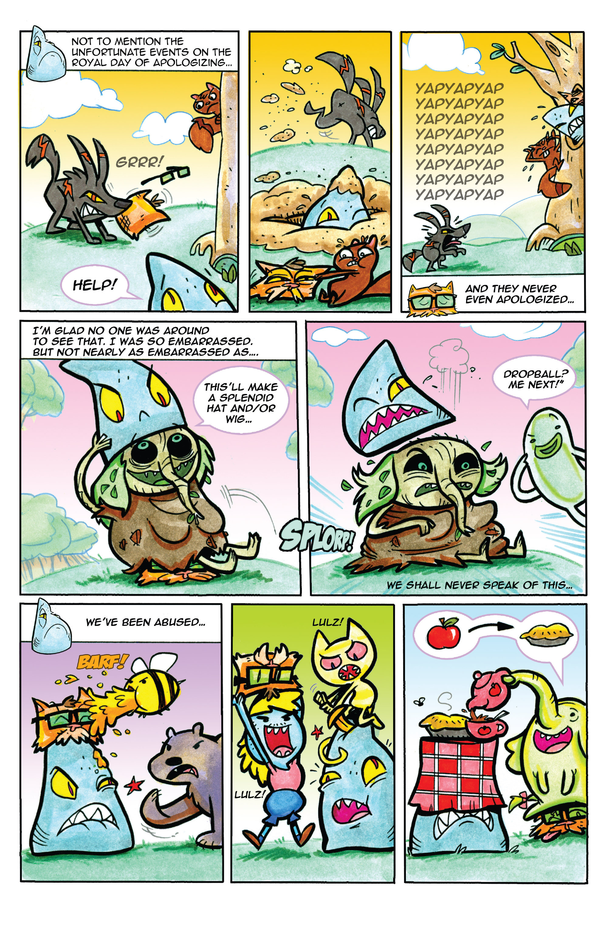 Read online Adventure Time comic -  Issue #37 - 22