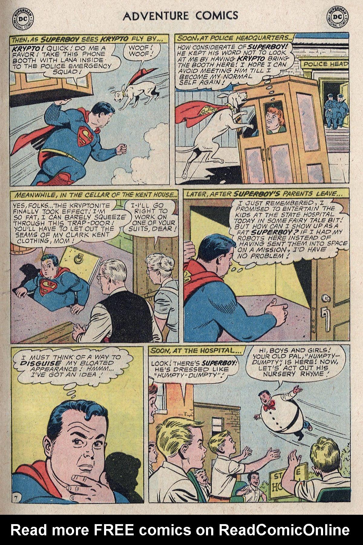 Read online Adventure Comics (1938) comic -  Issue #298 - 9