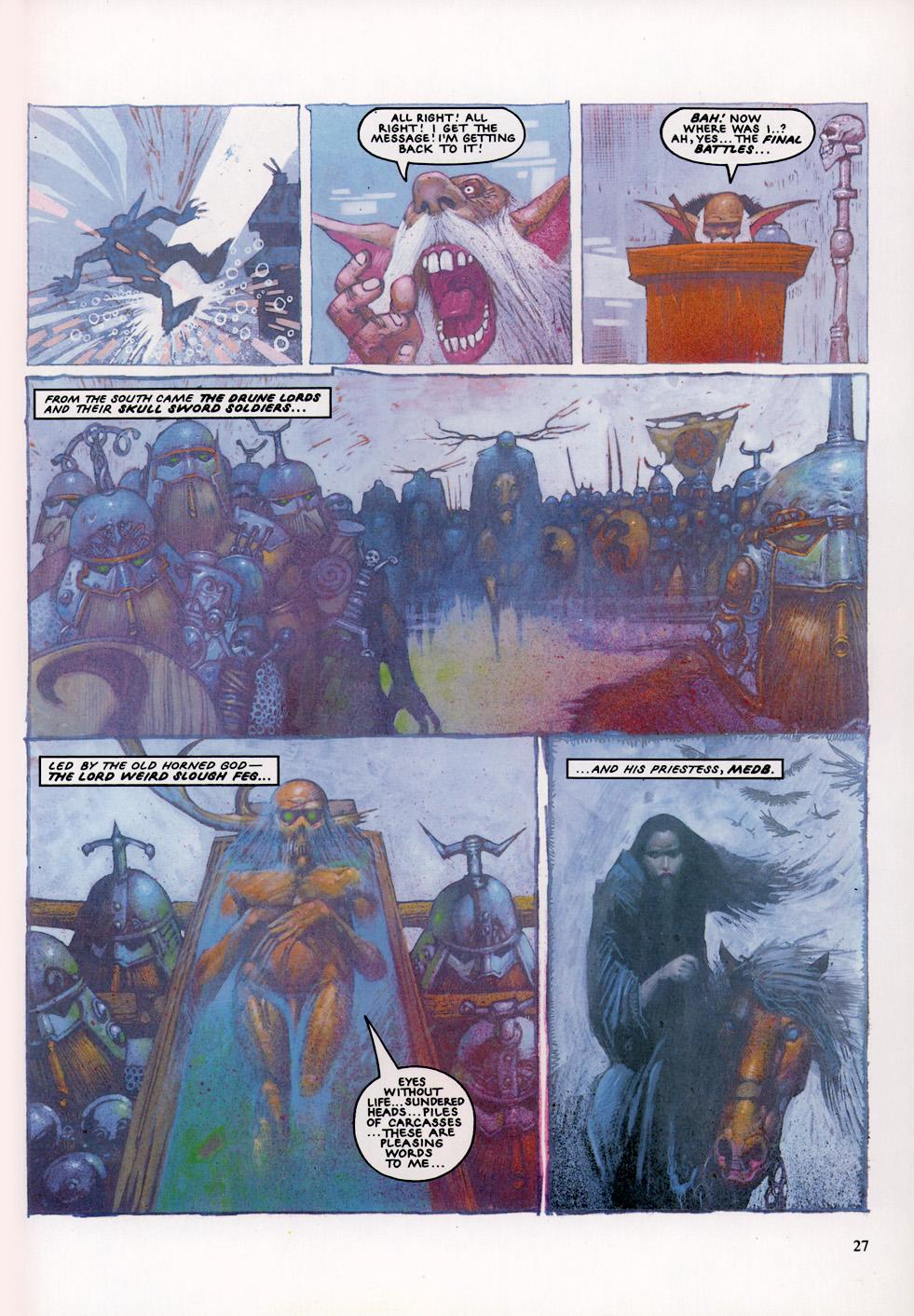 Read online Slaine: The Horned God (1993) comic -  Issue #4 - 28